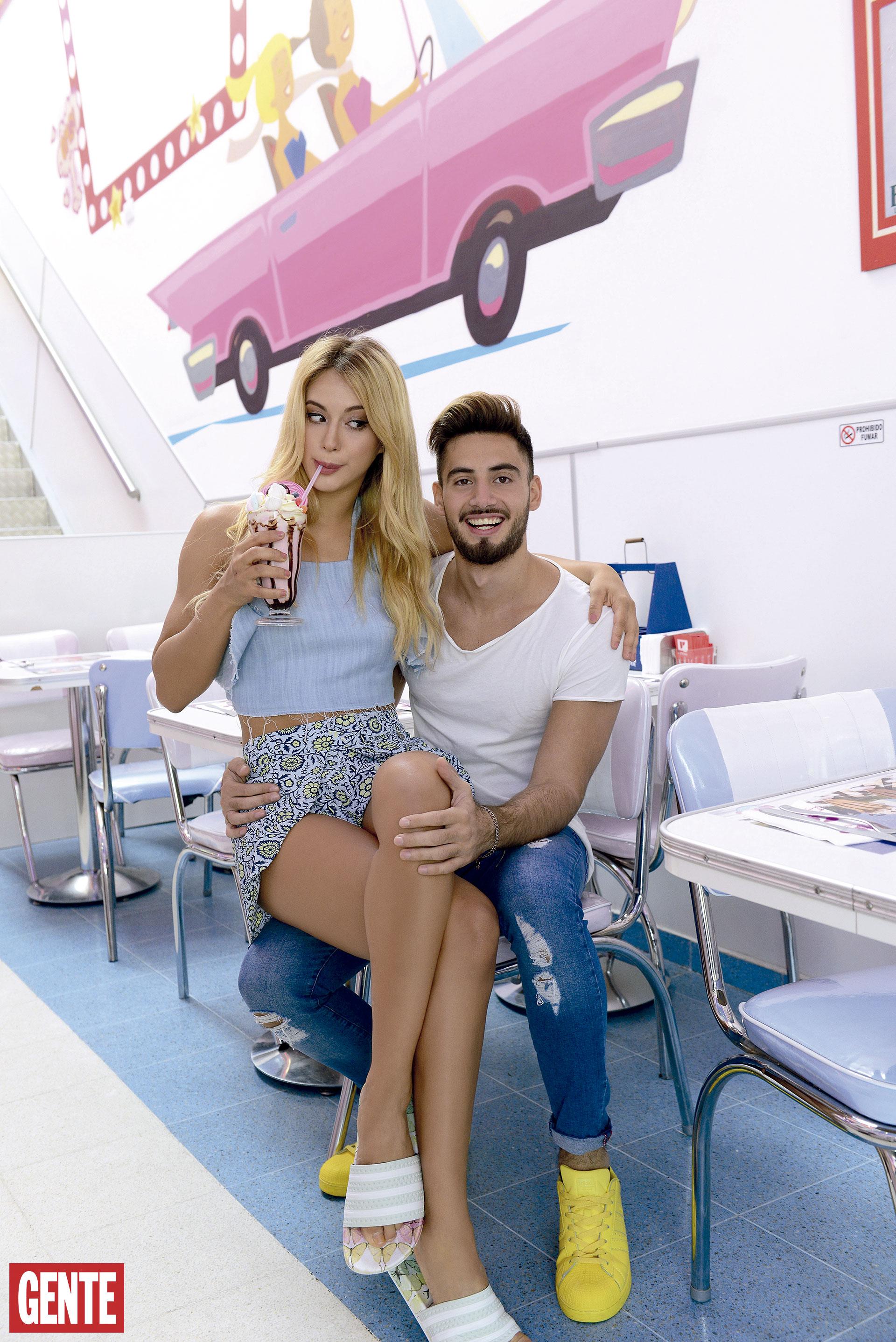Flor Vigna y Nico Occhiato están de novios hace tres años y superaron una fuerte crisis que incluyó una separación de dos semanas. (Foto: Ale Carra/GENTE)