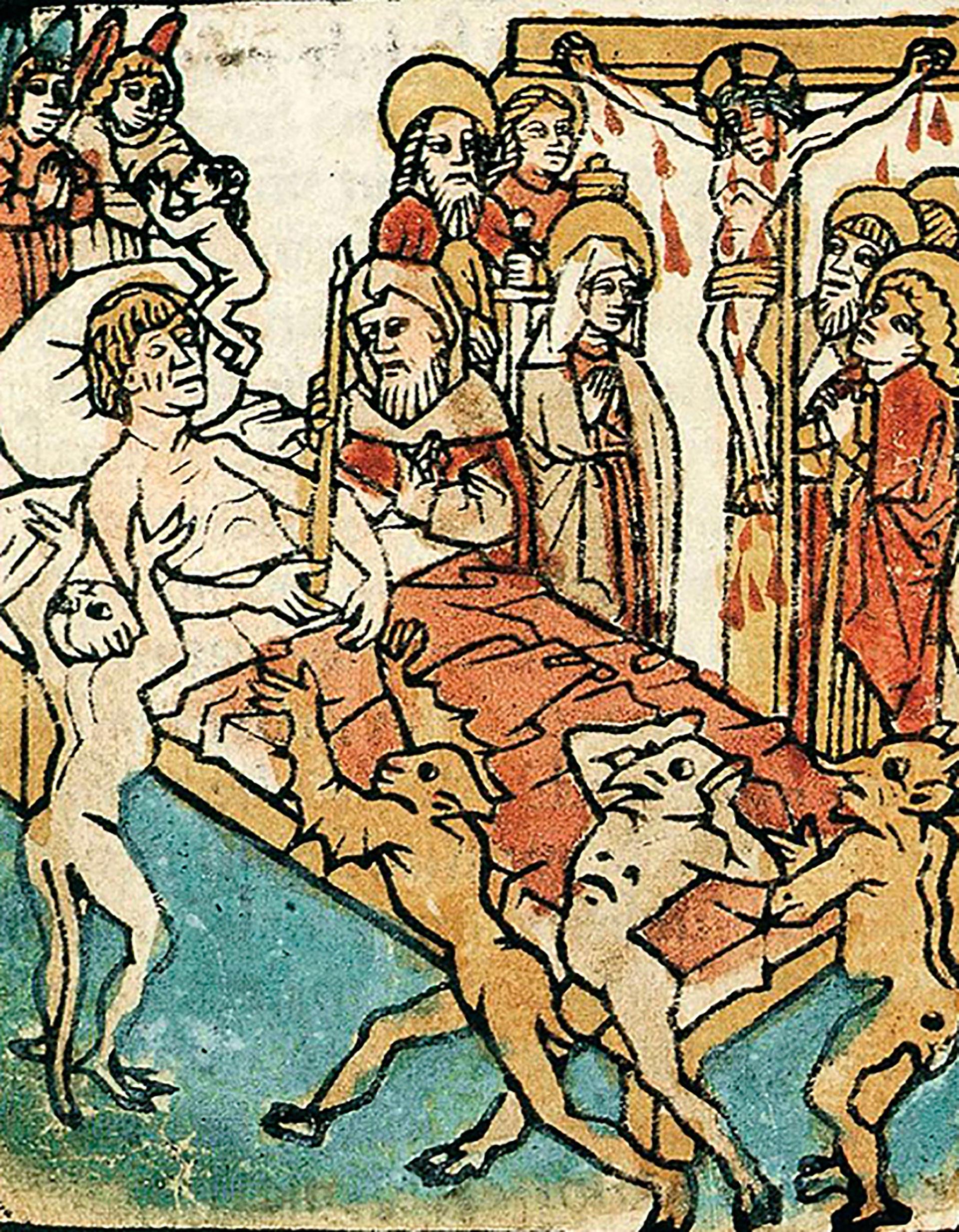 La hora de la muerte, Ars moriendi, año 1460