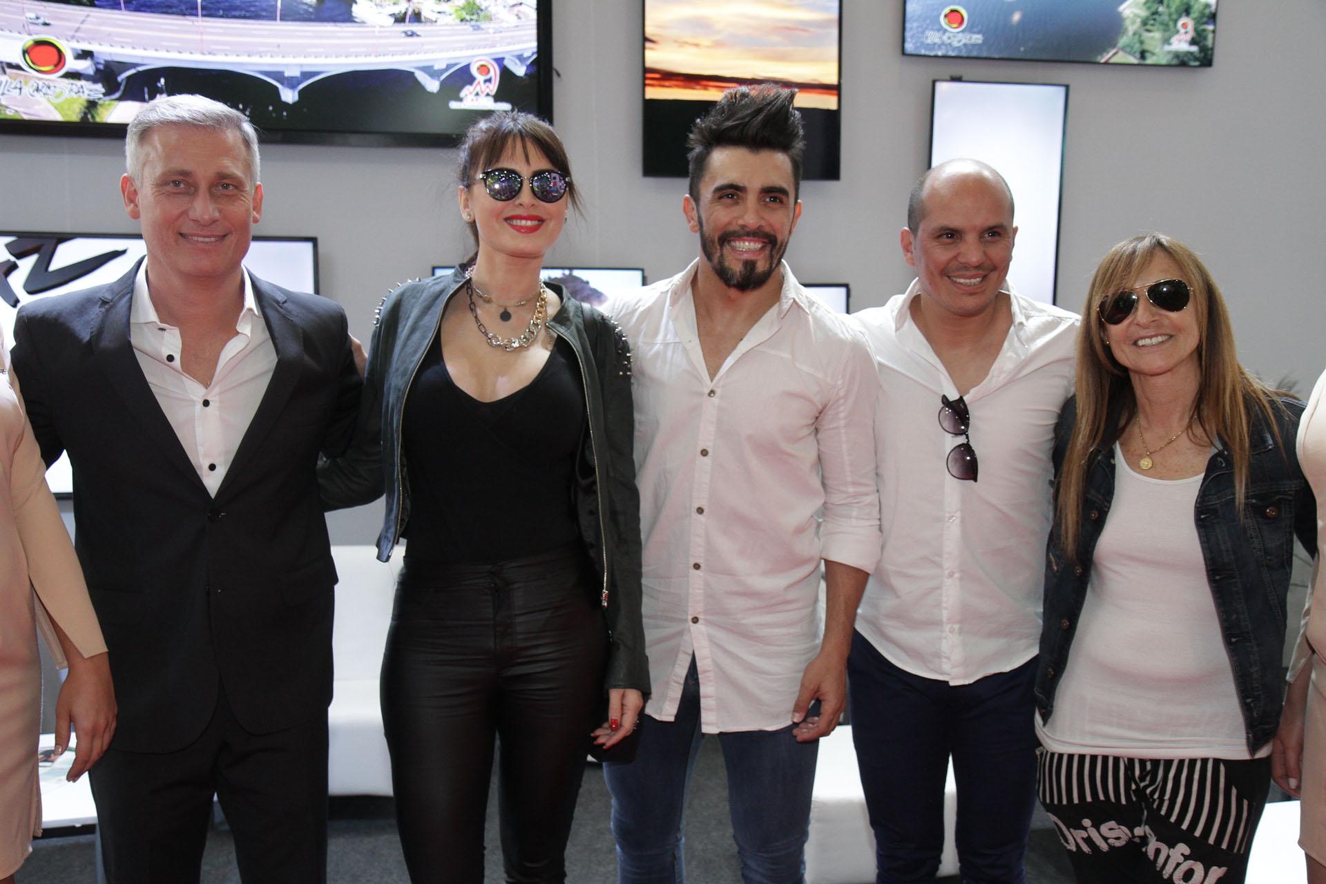El evento contó con la presencia de algunas de las figuras que estarán presentes en la temporada teatral de Villa Carlos Paz, la más importante del país junto a Mar del Plata (Mario Sar)