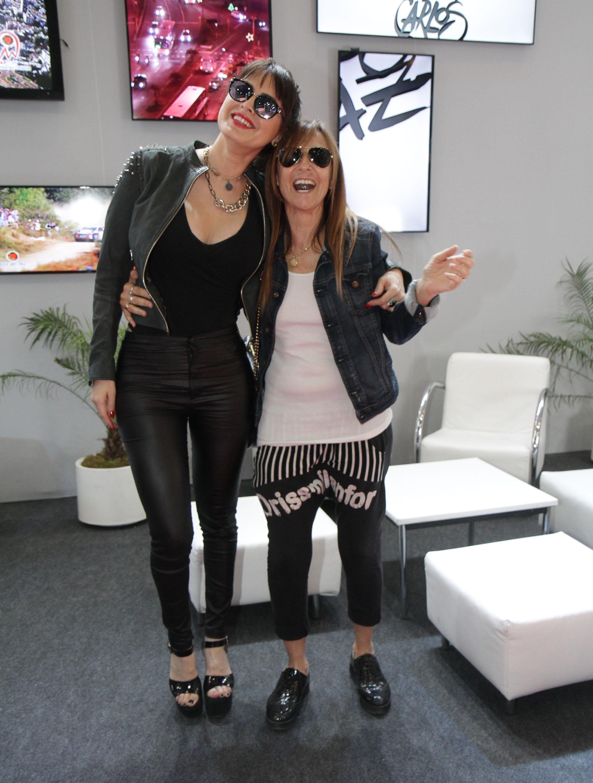 Silvina Luna y Gladys Florimonte volverán a verse en la ciudad cordobesa (Mario Sar)