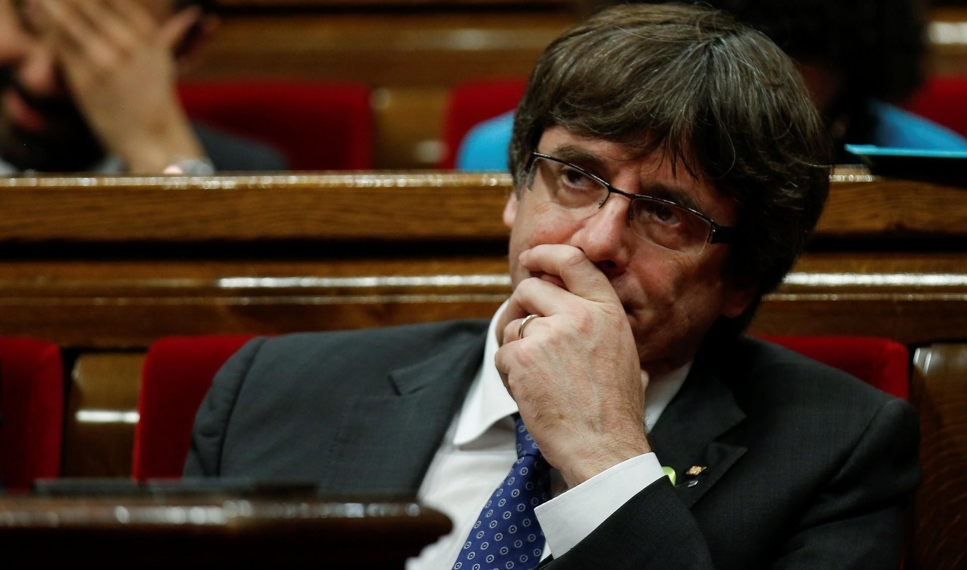 España retiró orden de arresto a Puigdemont y cuatro exdirigentes catalanes