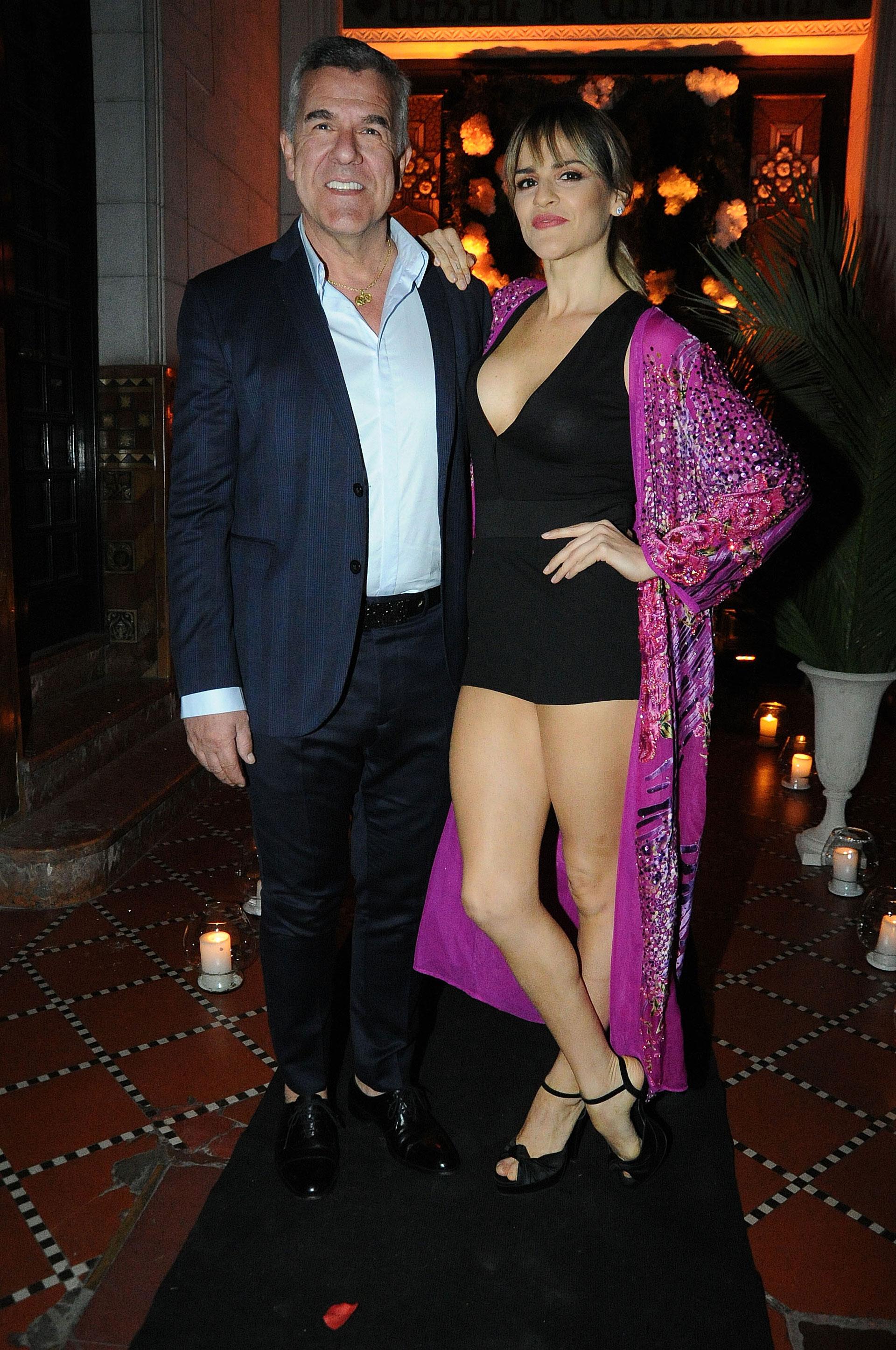 Dady Brieva y su mujer