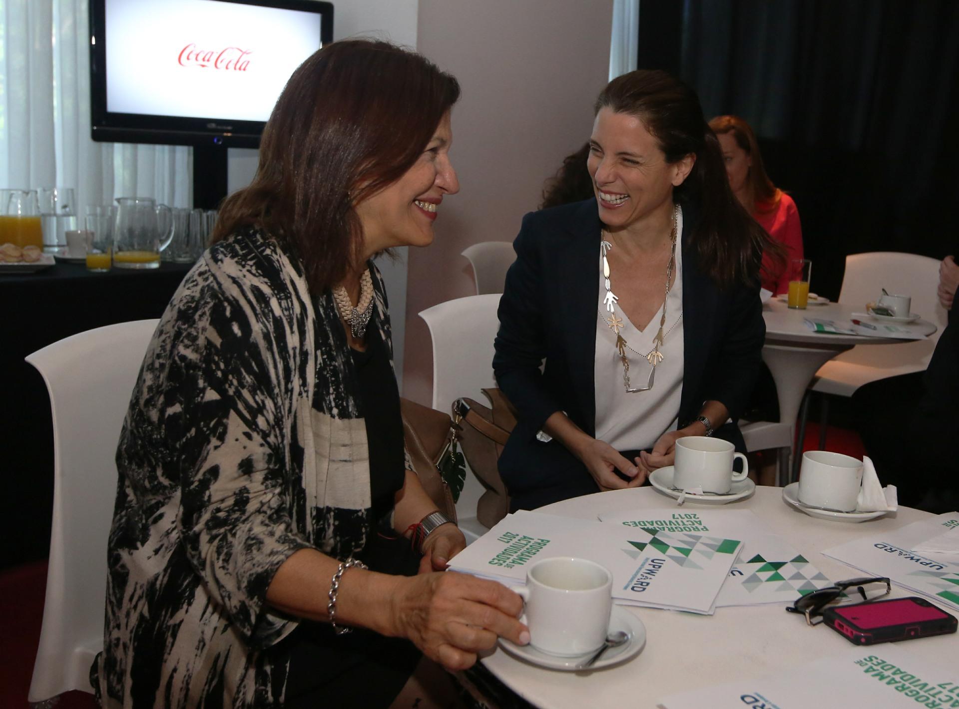 En Palermo, el evento reunió a un grupo de empresarias líderes en un rico desayuno