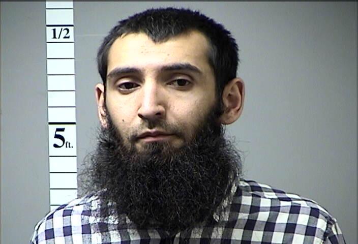 Sayfullo Saipov detenido en 2016 por una infracción de tránsito