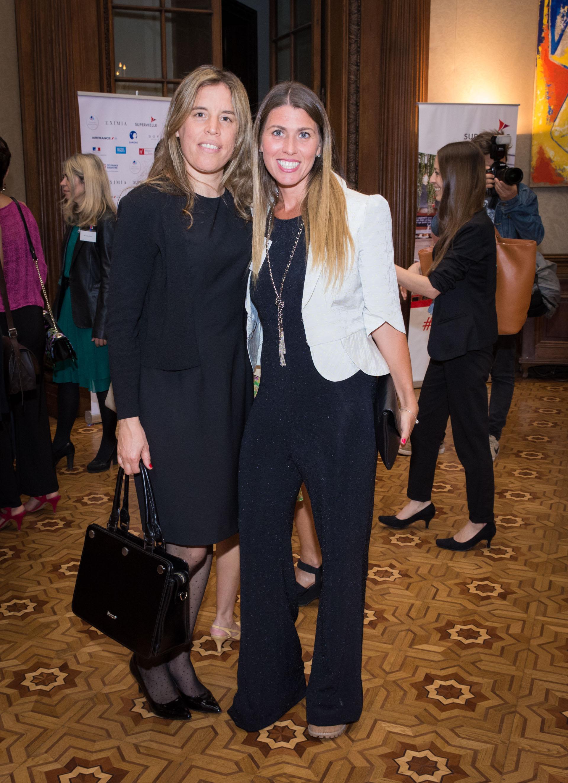 Virginia Genovesi (gerente de RRHH de Grupo Techint) y Sheila Graschinsky (Fundadora de Grecenym)
