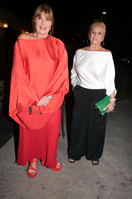 Sofía Neimann y Elsa Serrano