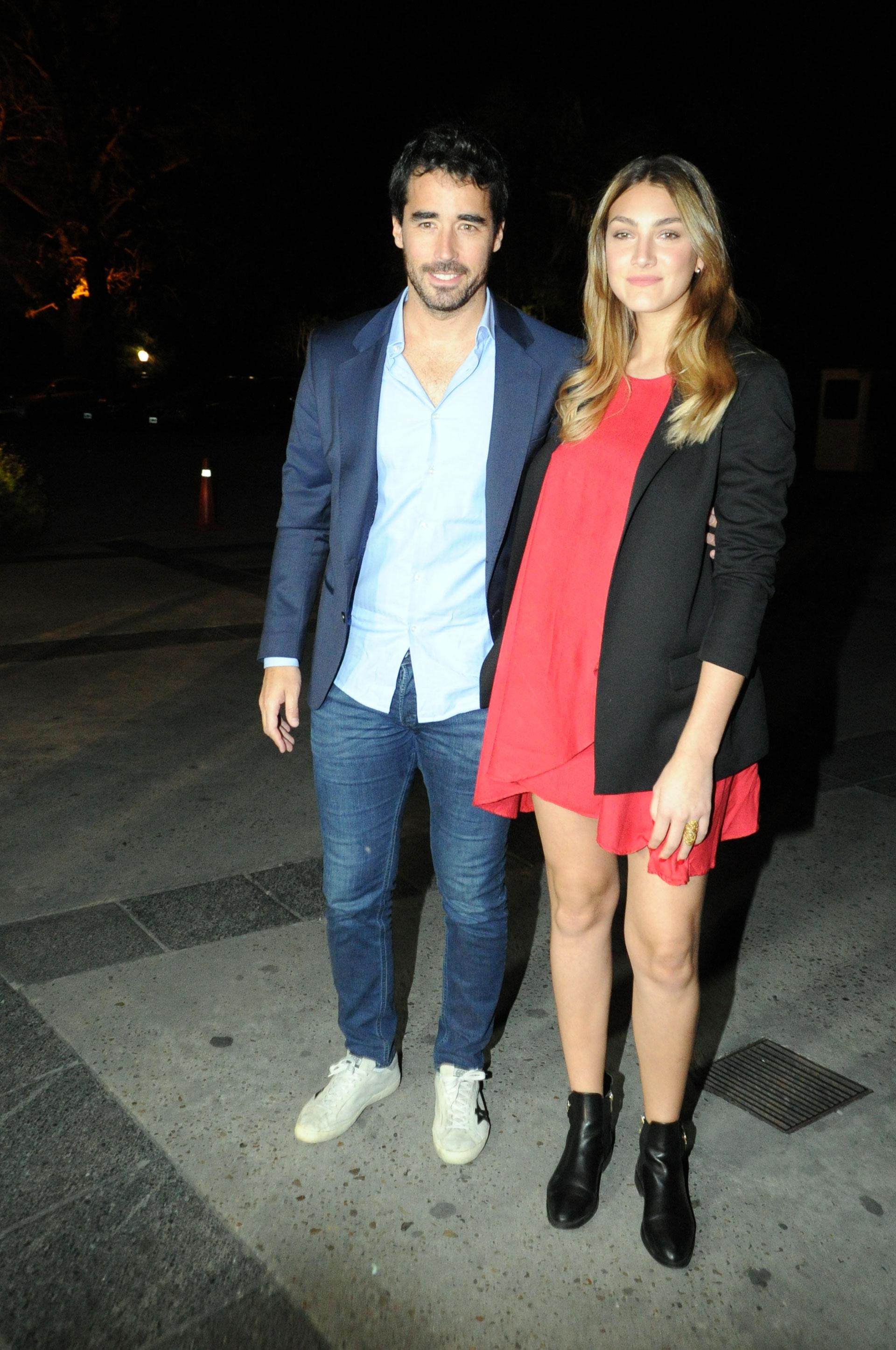Nacho Viale y su novia Lucía Pedraza