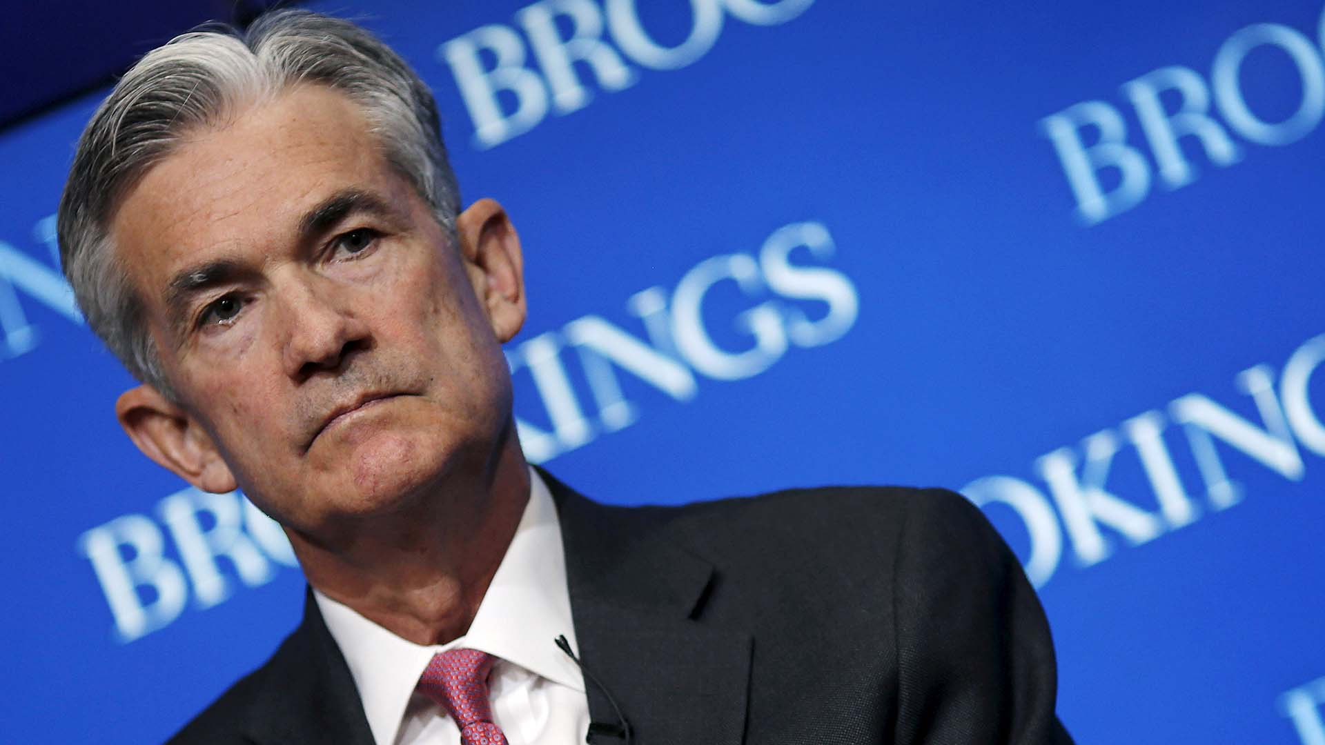 Jerome Powell, presidente de la Reserva Federal de EEUU. (REUTERS)
