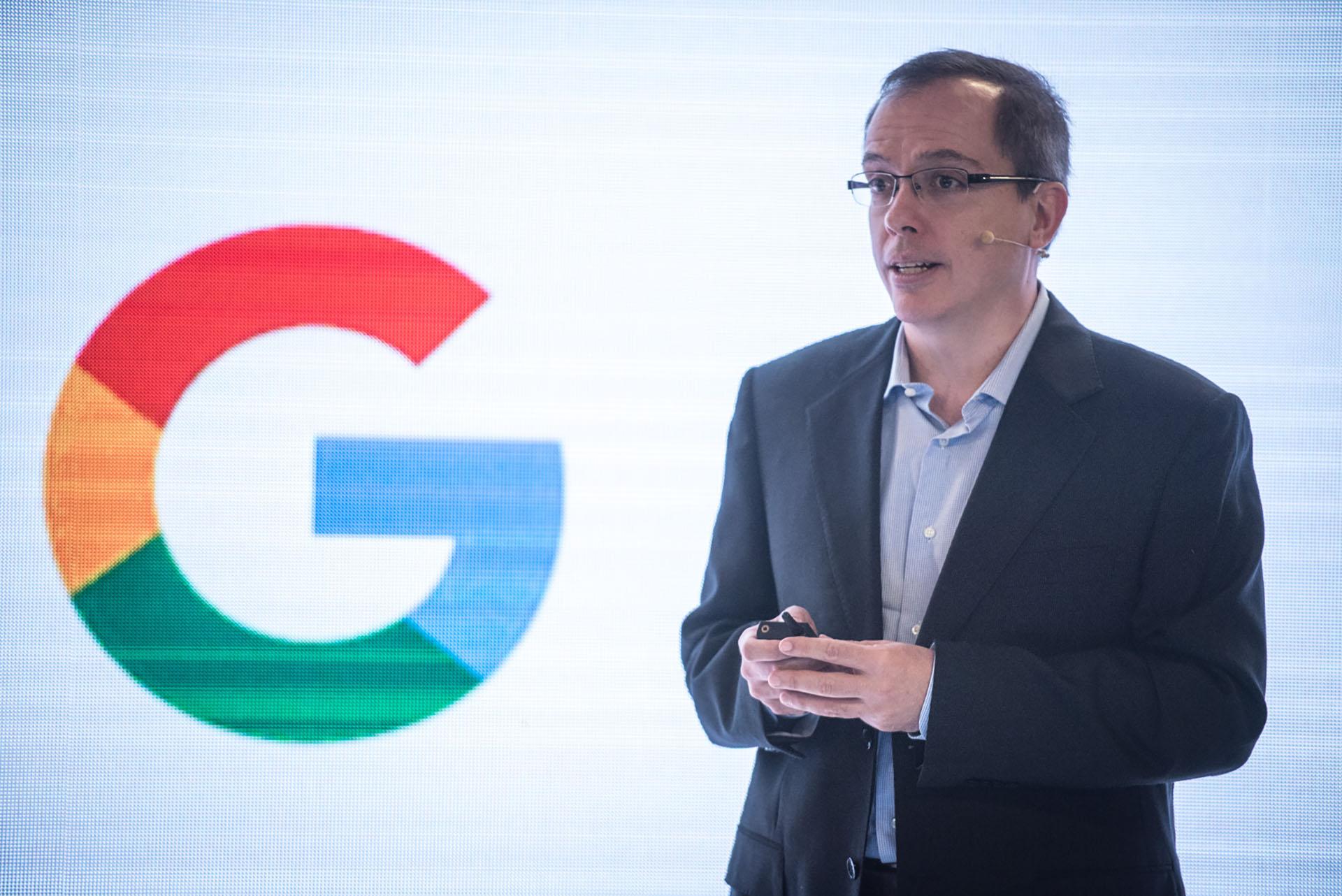 Daniel Alegre, presidente de Acuerdos Globales de Google y uno de los responsables de la apertura de la sede local destacó el espíritu emprendedor de los argentinos