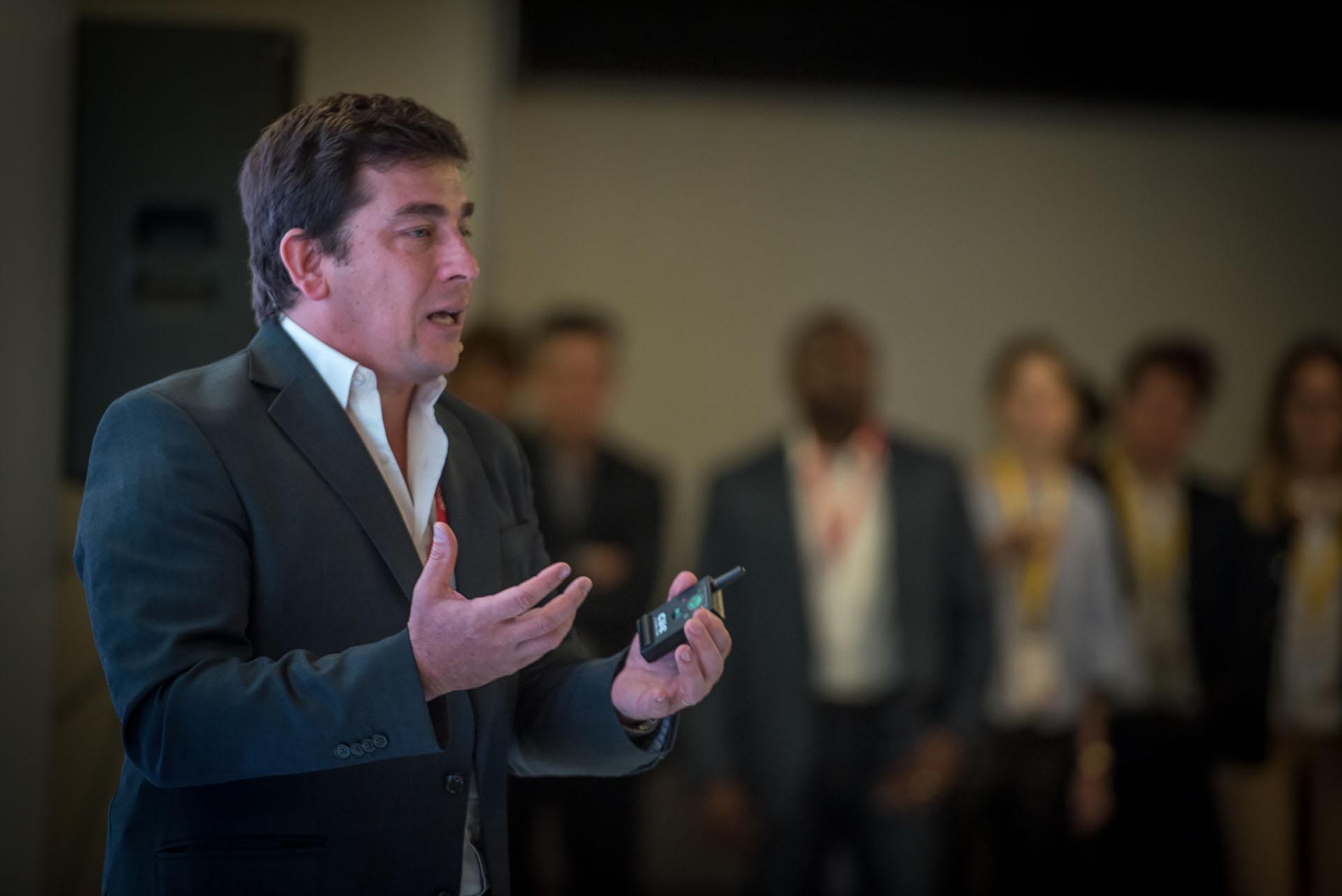 Durante el encuentro, Procaccinicompartióhistorias de emprendedores que crecieron usando herramientasy las plataformas de la empresa, comoYouTube.