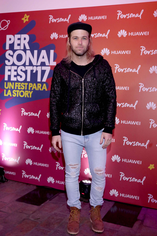 Benjamín Amadeo es uno de los confirmados del Personal Fest'17