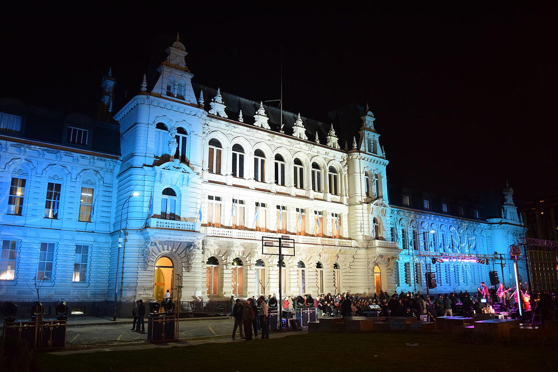 Palacio Sarmiento, conocido como Pizzurno