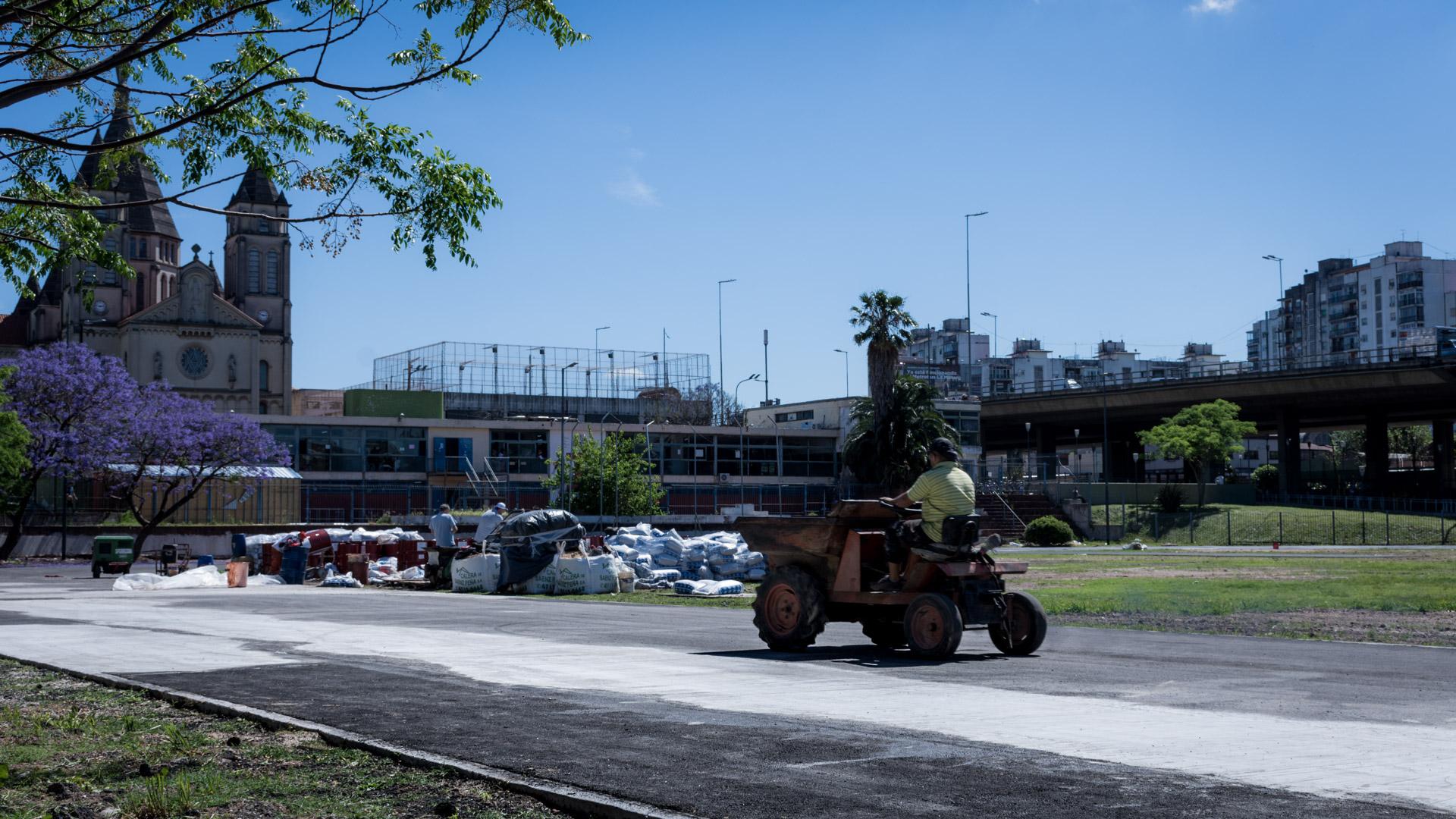 El Gobierno de la Ciudad de Buenos Aires inaugurará la nueva y renovada pista de atletismo en Parque Chacabuco(Martín Rosenzveig)