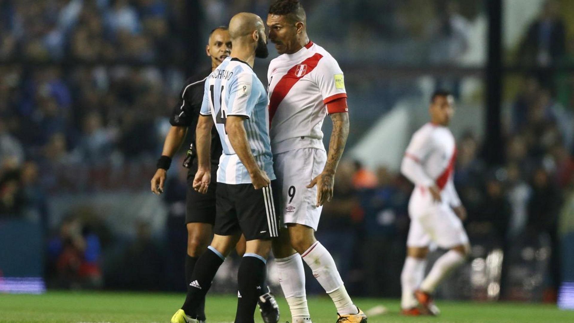 El resultado adverso del control de Guerrero fue en el duelo entre Argentina y Perú (Reuters)