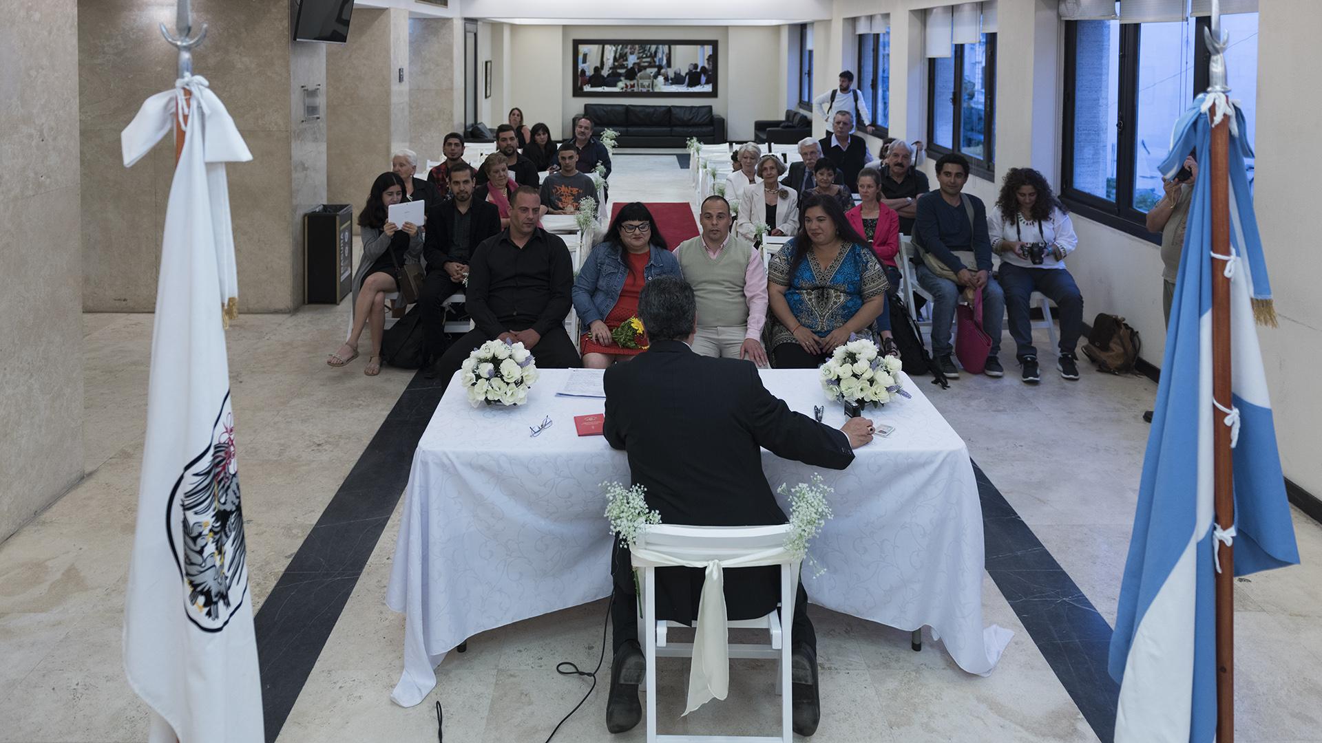 Cuatro mil solicitudes llegaron para casarse en La Noche de los Museos y solo tres parejas fueron sorteadas