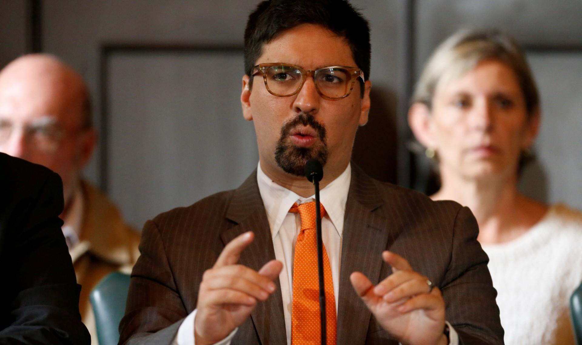 El primer vicepresidente de la Asamblea Nacional venezolana Freddy Guevara (REUTERS/Andres Martinez)