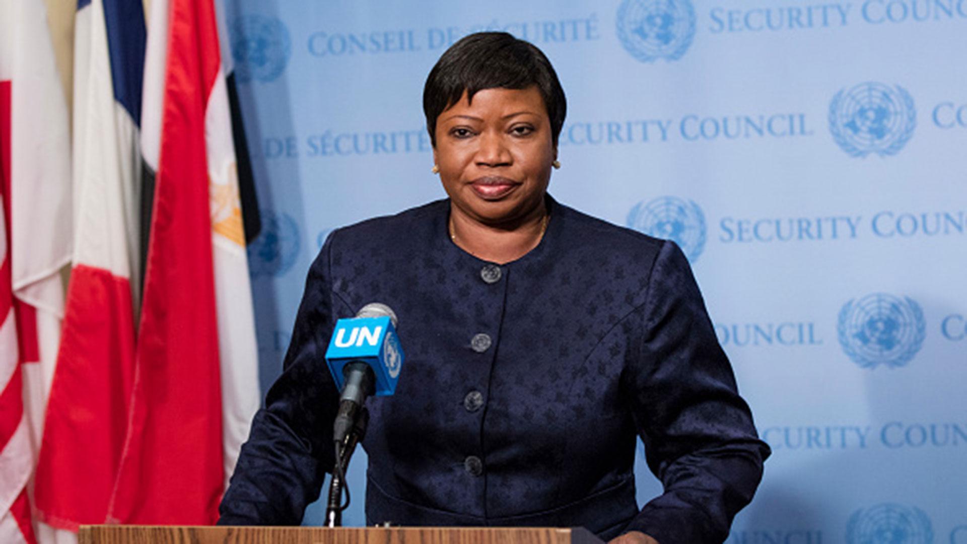 Fatou Bensouda, fiscal de la CPI (Getty)