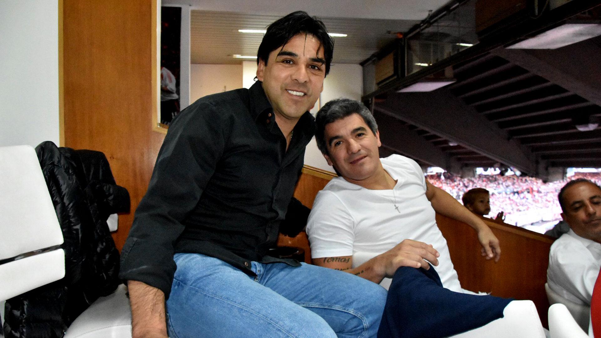 Ariel Ortega y Guillermo Rivarola