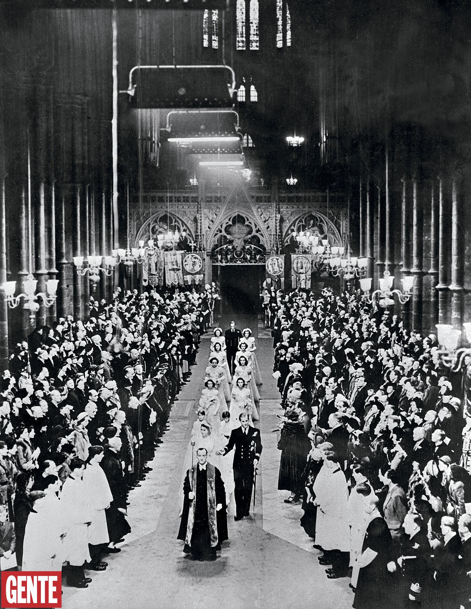 El interior de la histórica abadía. FOTO: AFP
