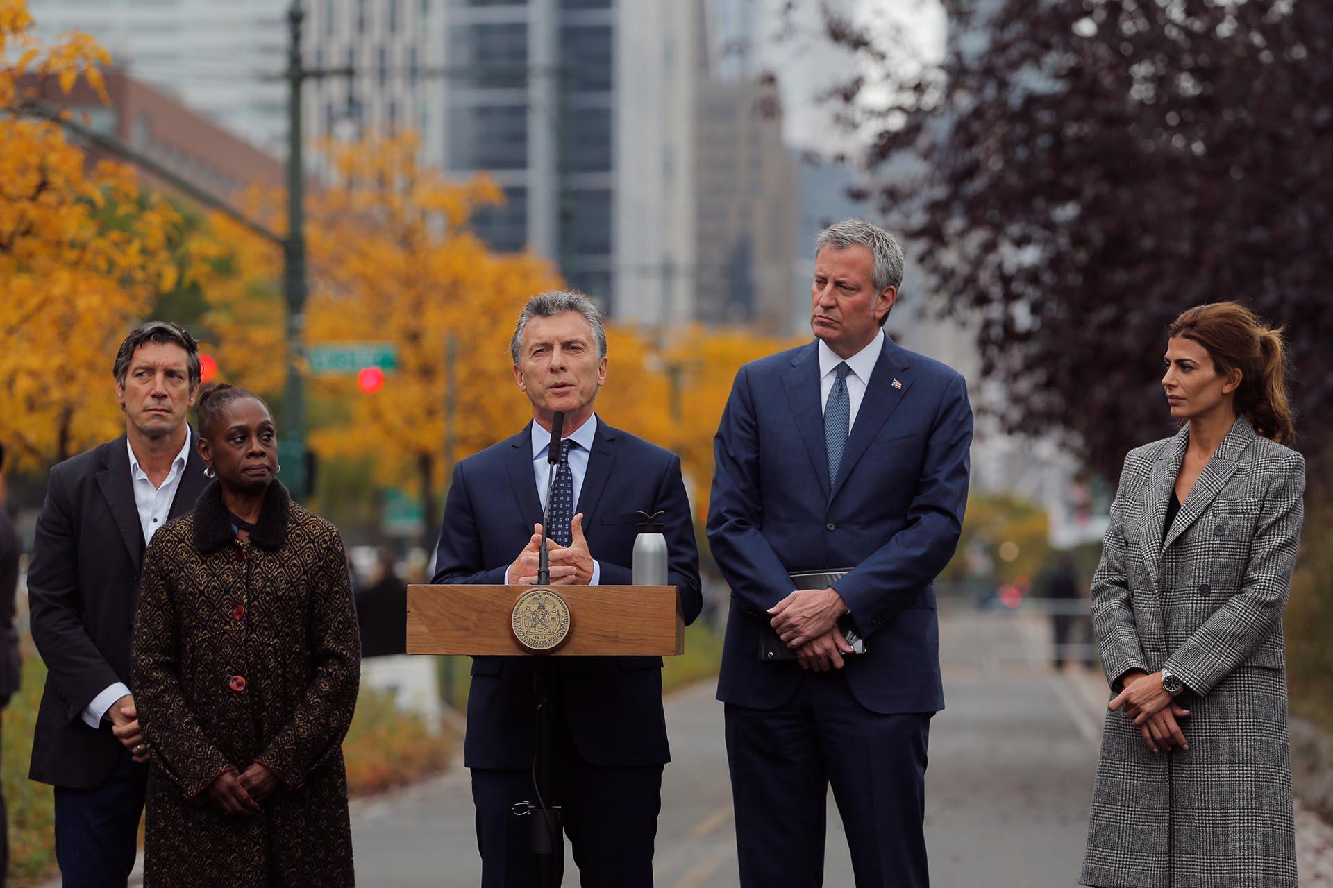 Macri en Nueva York: