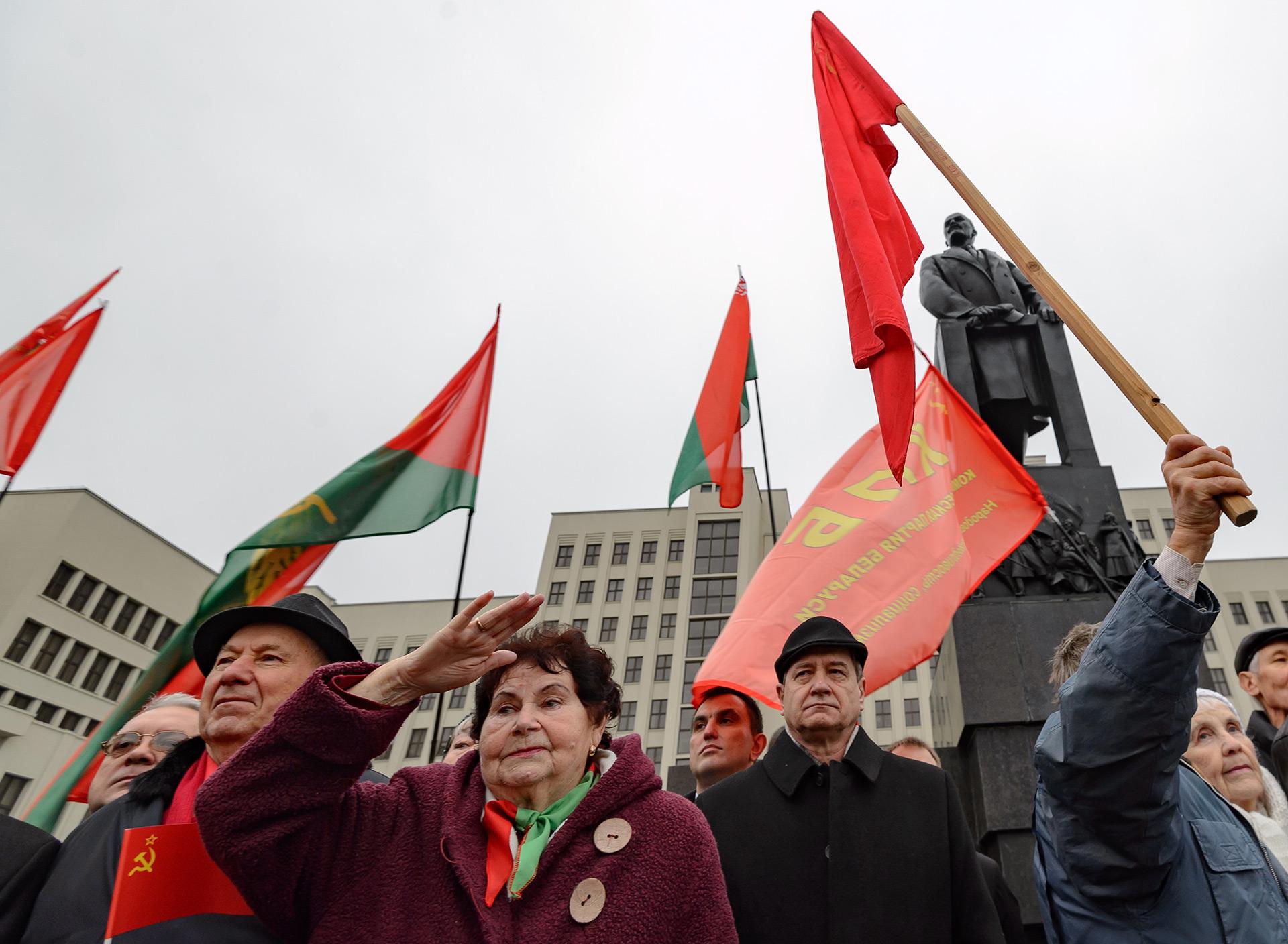 Aún hoy muchos sectores de la población rusa sienten nostalgia por la vida en el estado soviético (AFP)