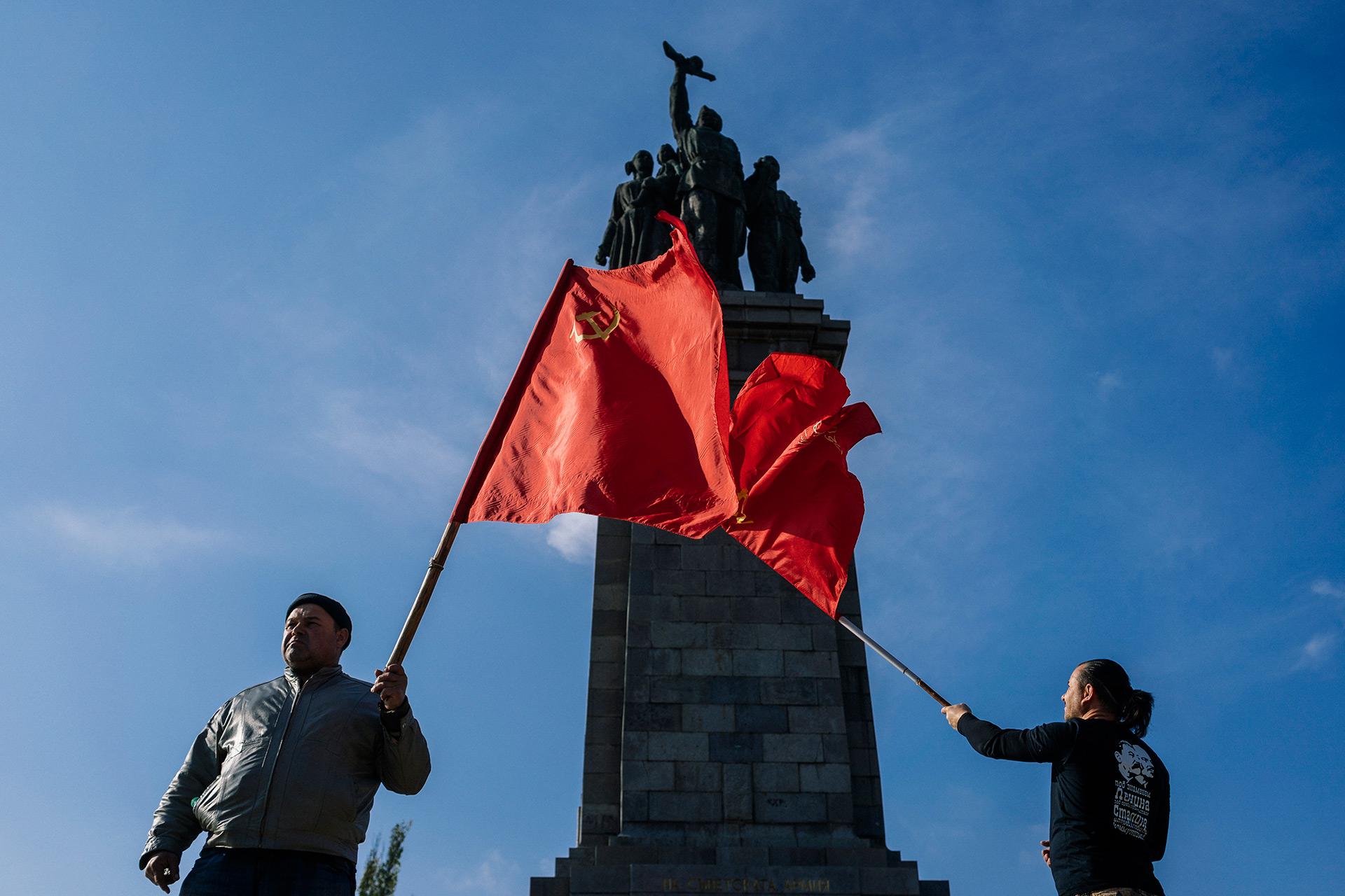 La Unión Soviética colapso finalmente en 1991 (AFP)