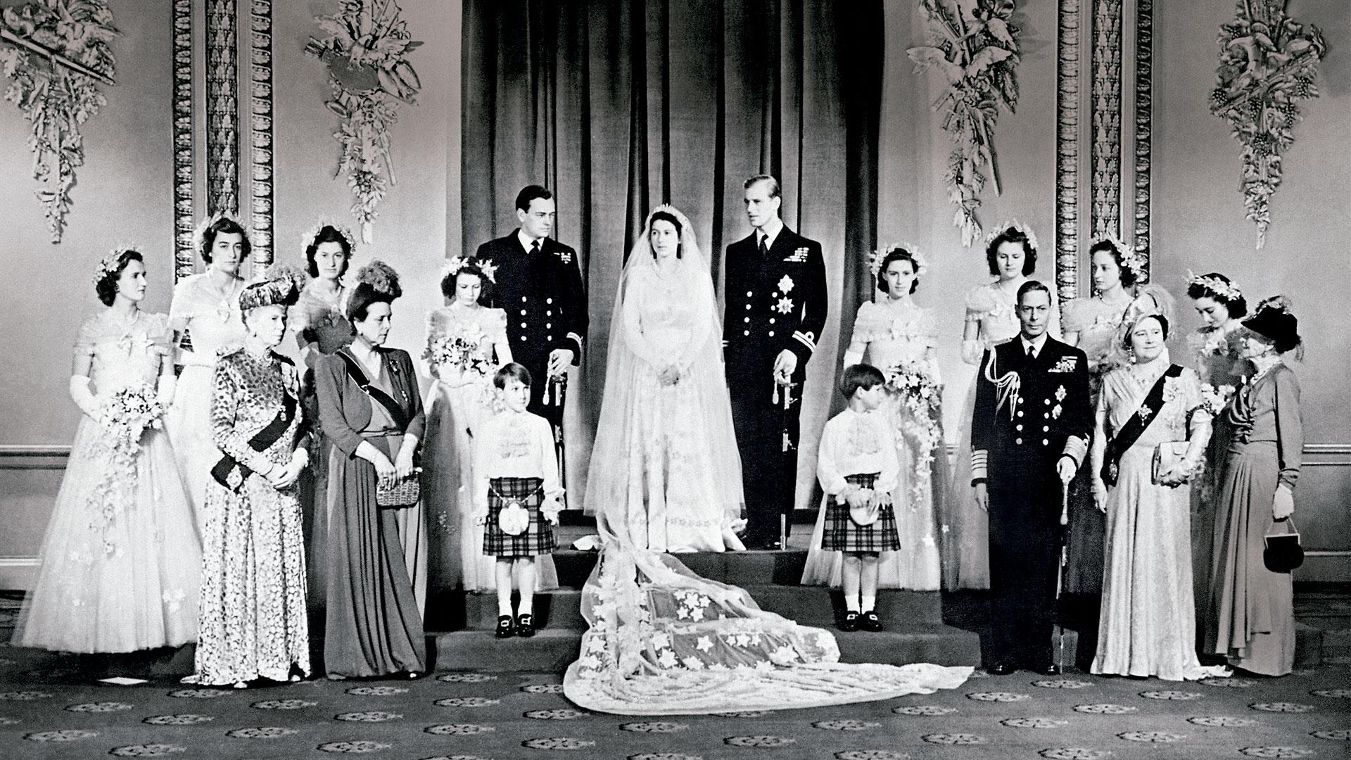 Los Emblemáticos Vestidos De Novia De Las 11 Bodas Reales De La Corona Británica Infobae