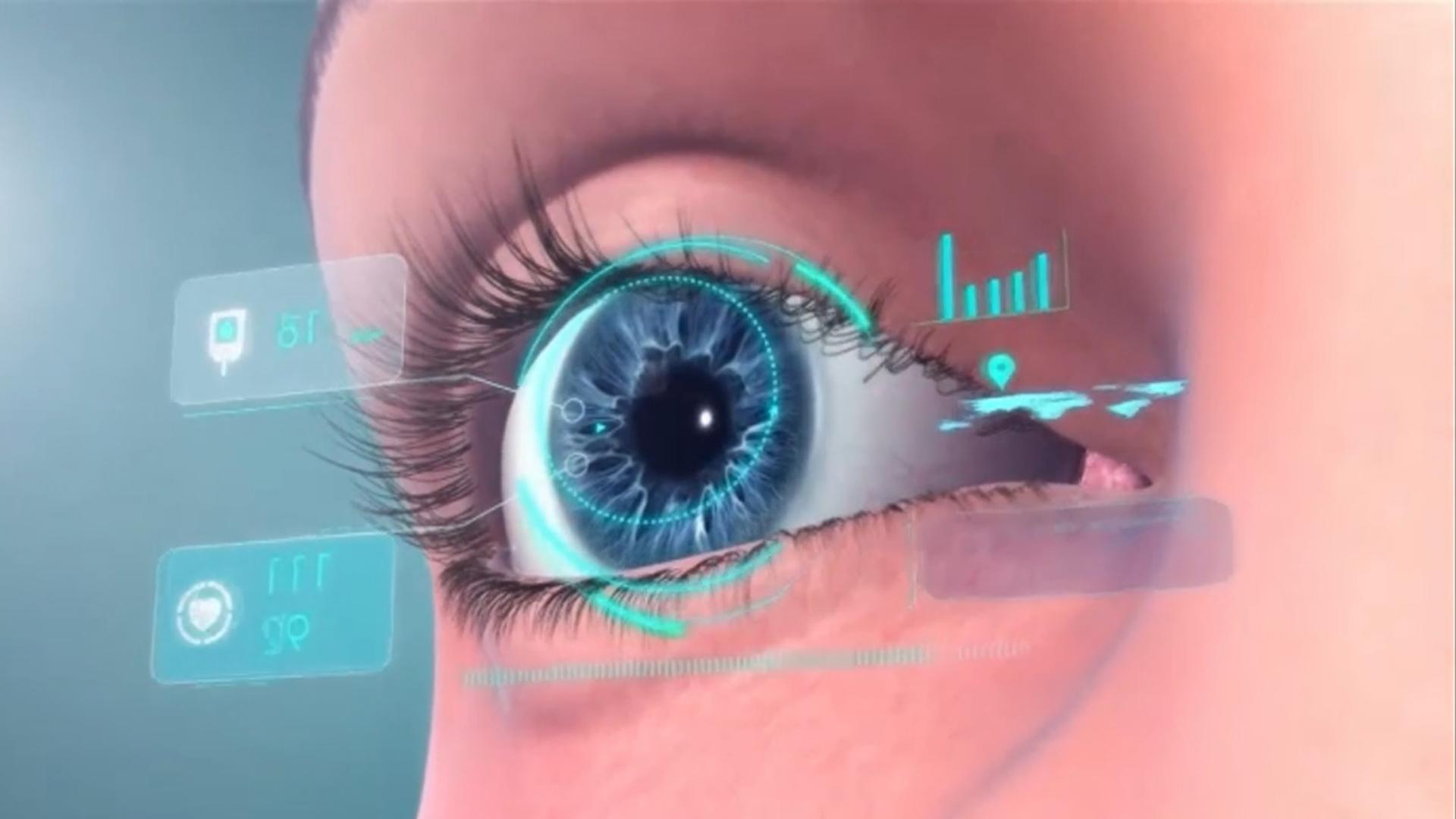 Resultado de imagen para lentes de contacto con realidad aumentada