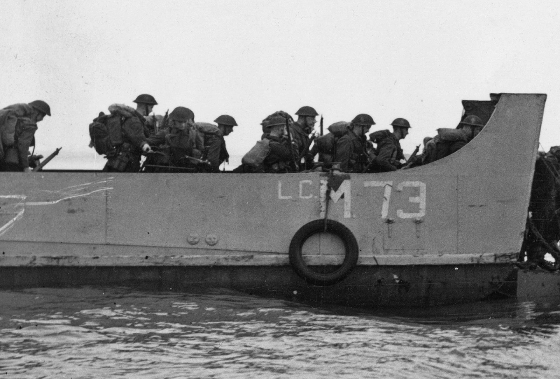 Fue la primera operación anfibia aliada(Keystone/Hulton Archive/Getty Images)