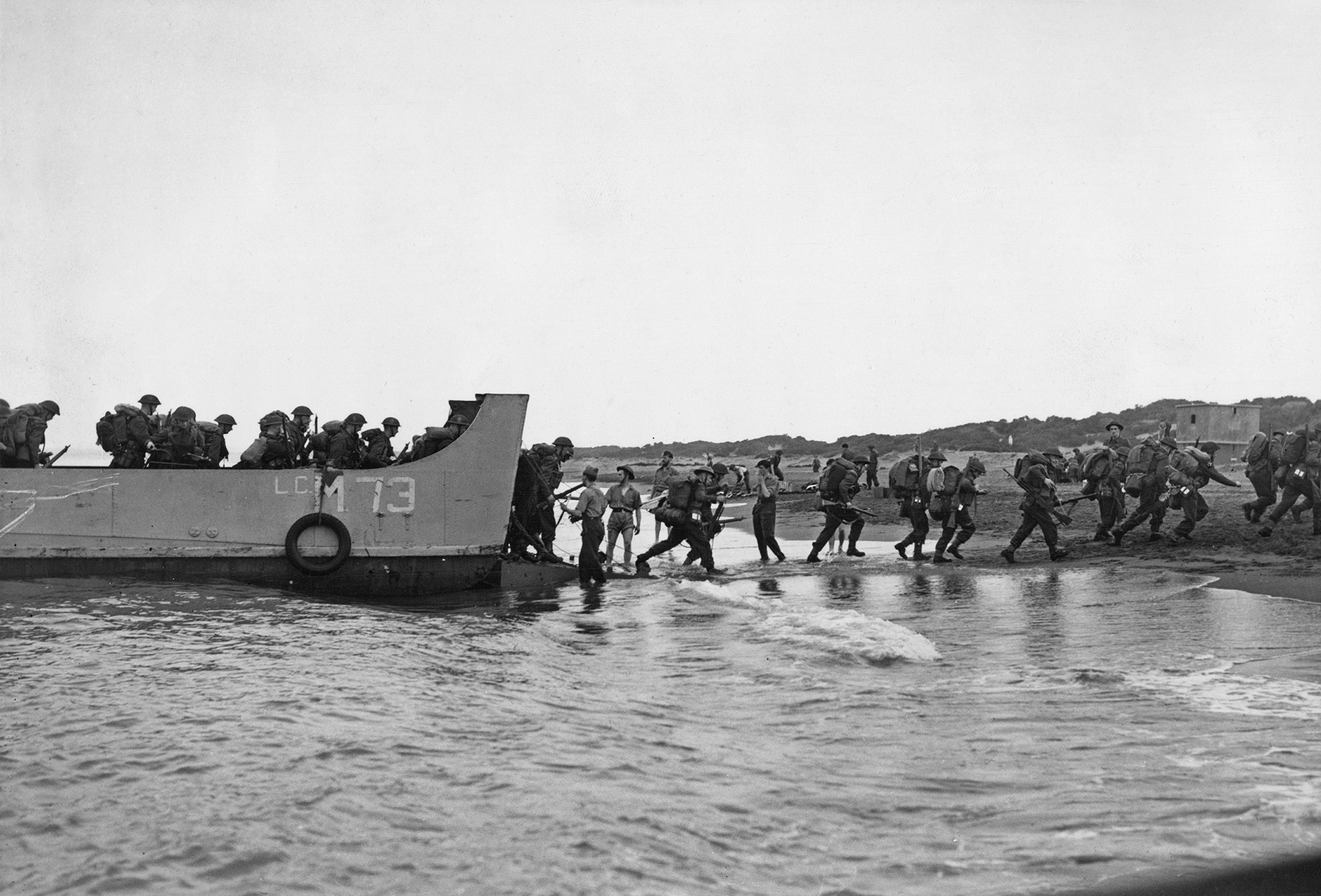 Tropas británicas desembarcan en Algiers, Argelia (Keystone/Hulton Archive/Getty Images)