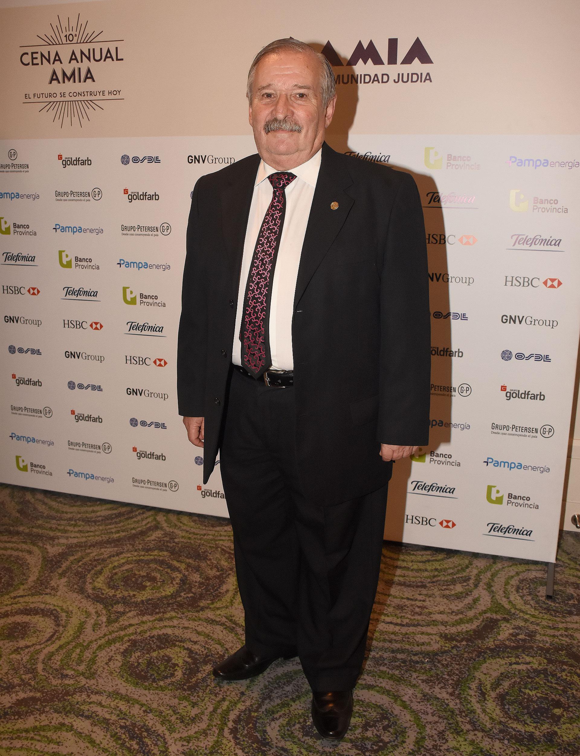 El ex presidente de la DAIA, Julio Schlosser