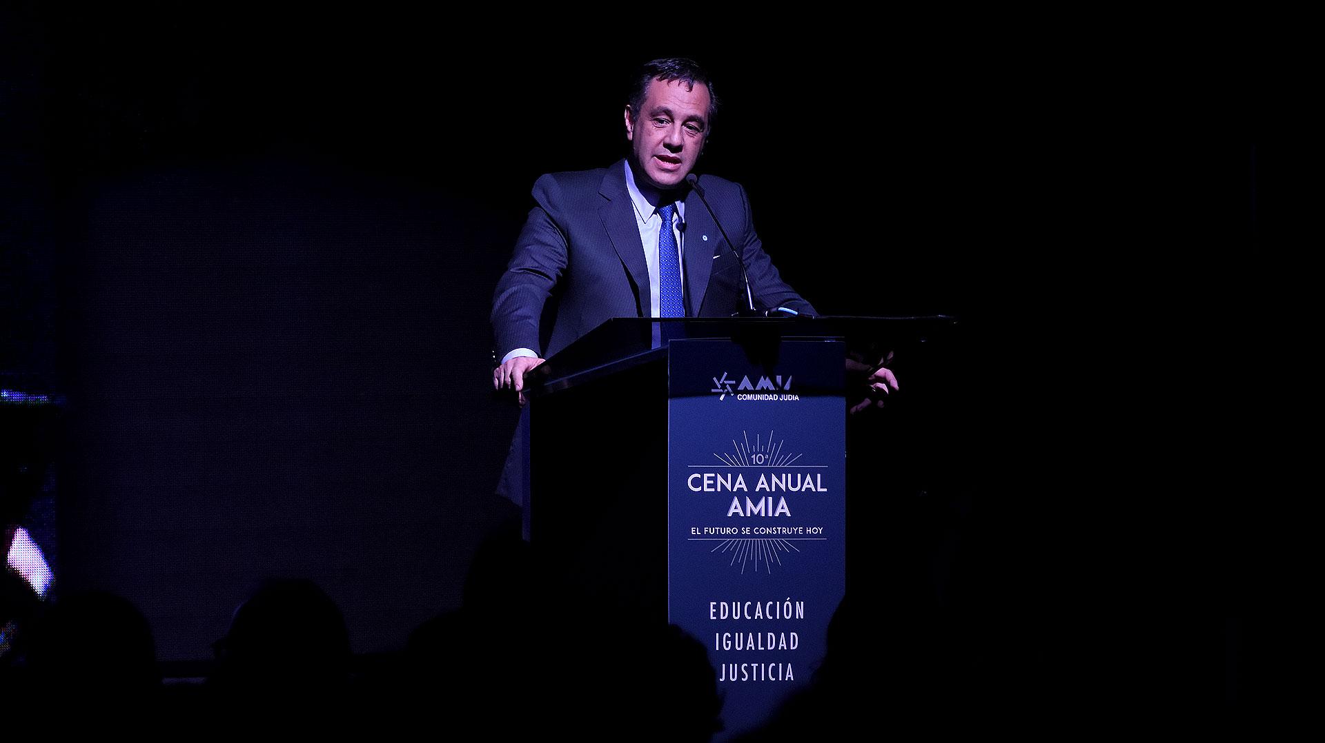 El discurso del ministro de Educación, Alejandro Finocchiaro