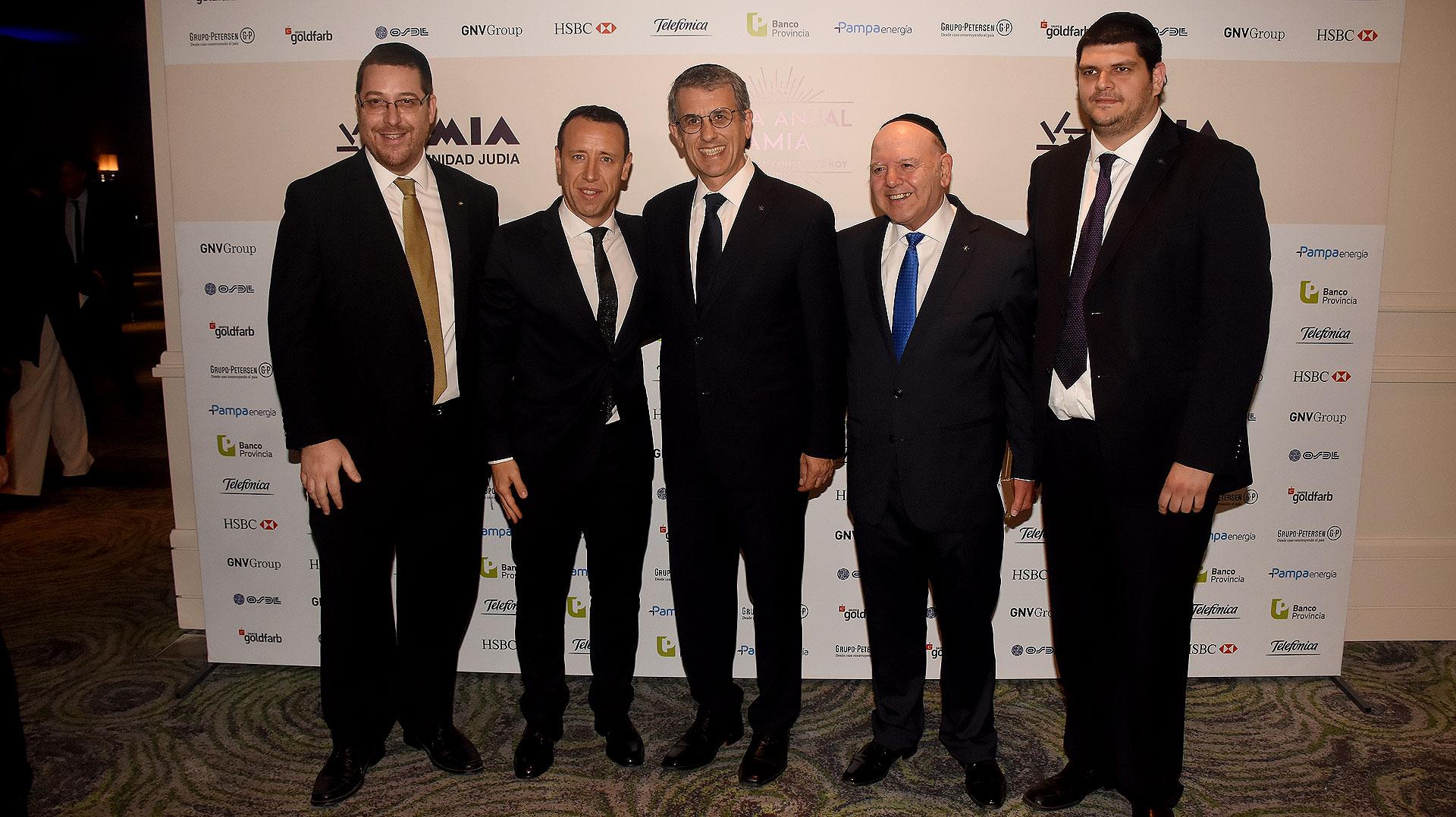 Facundo Pastor también estuvo entre los periodistas invitados a la Cena Anual de AMIA /// Fotos: Nicolás Stulberg