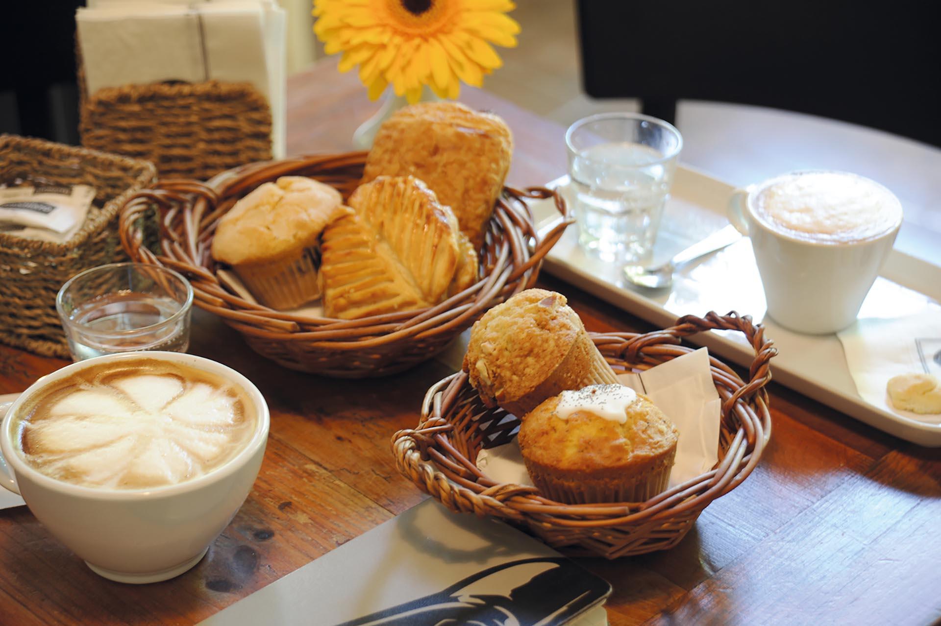 El desayuno está servido en Le Blé. Fotos Ariel Gutraich