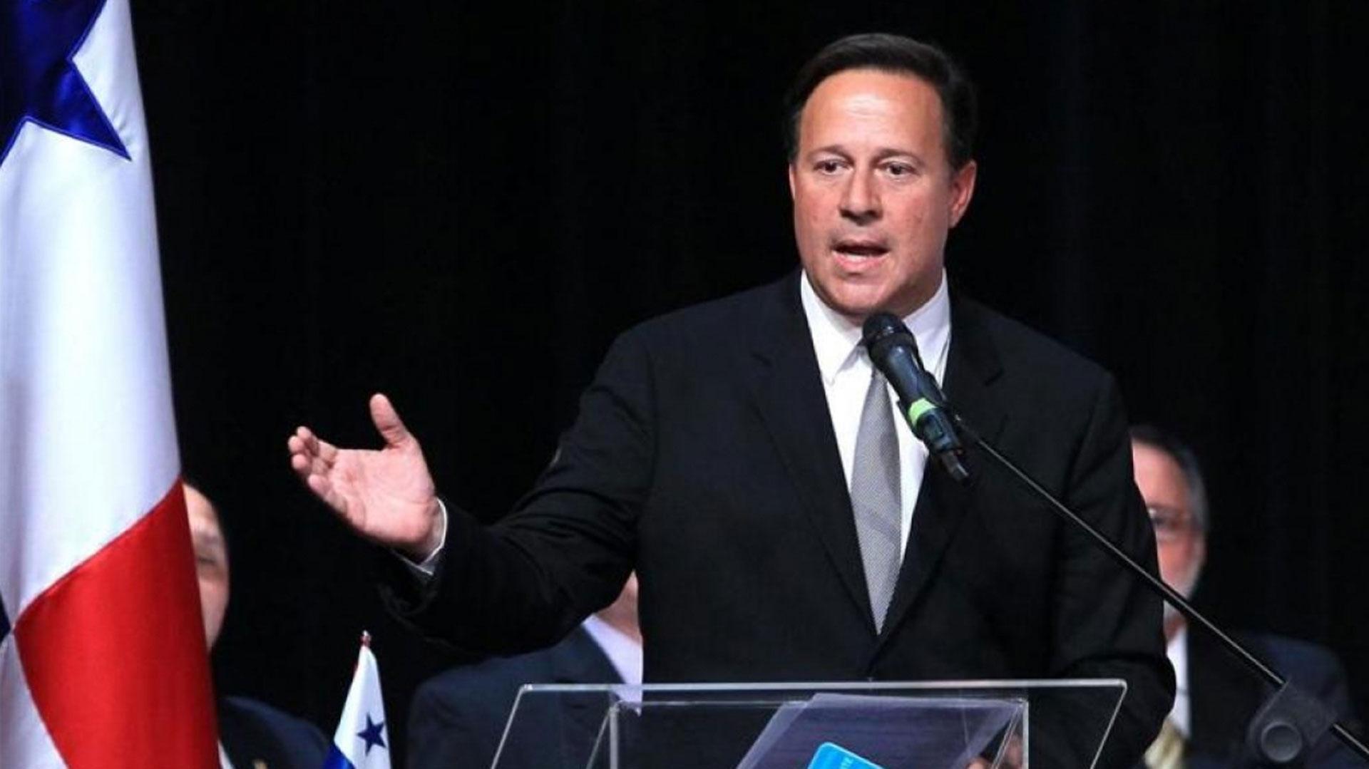 El presidente de Panamá Juan Carlos Varela (EFE)
