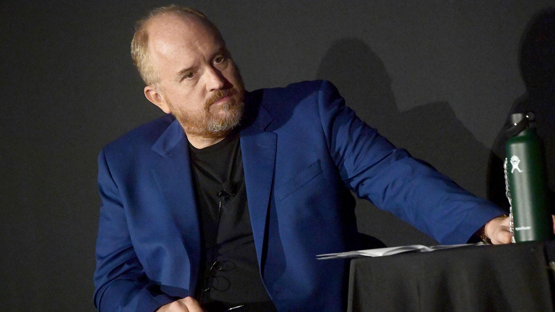El humorista Luis C.K. canceló el estreno de su última película (Getty Images)