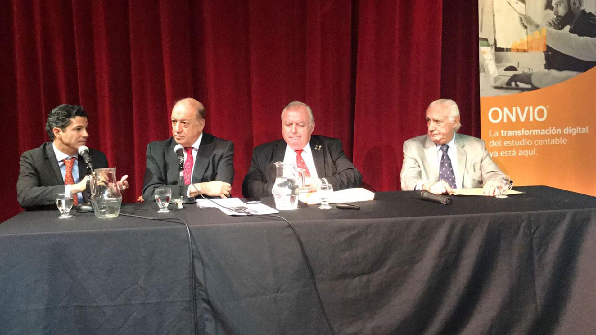 Luciano Laspina, Humberto Bertazza, Julián de Diego y Norberto Marconi (Thomson Reuters)