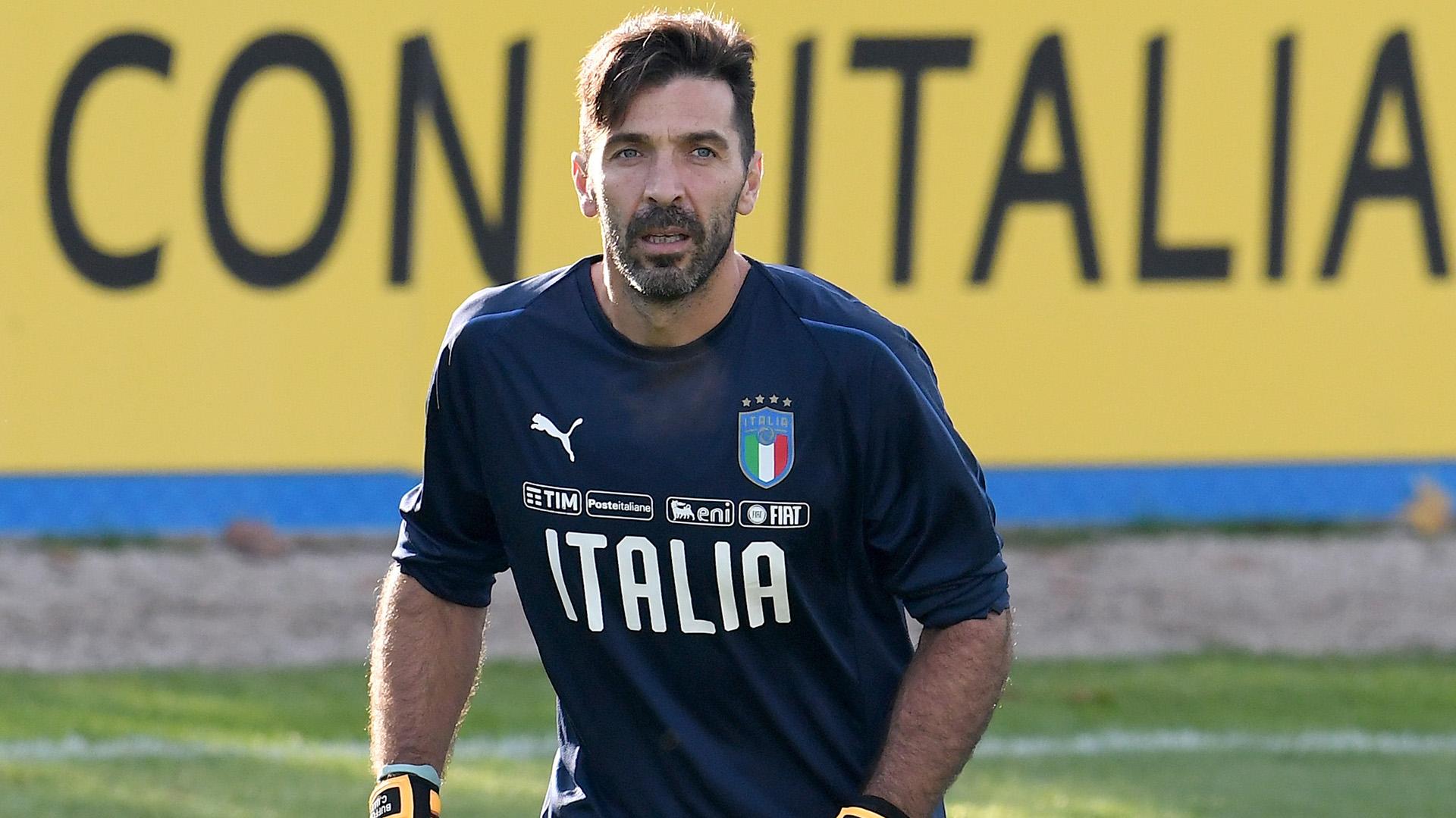 Gianluigi Buffon tiene 40 años y salió campeón del mundo con Italia en Alemania 2006 (Getty)
