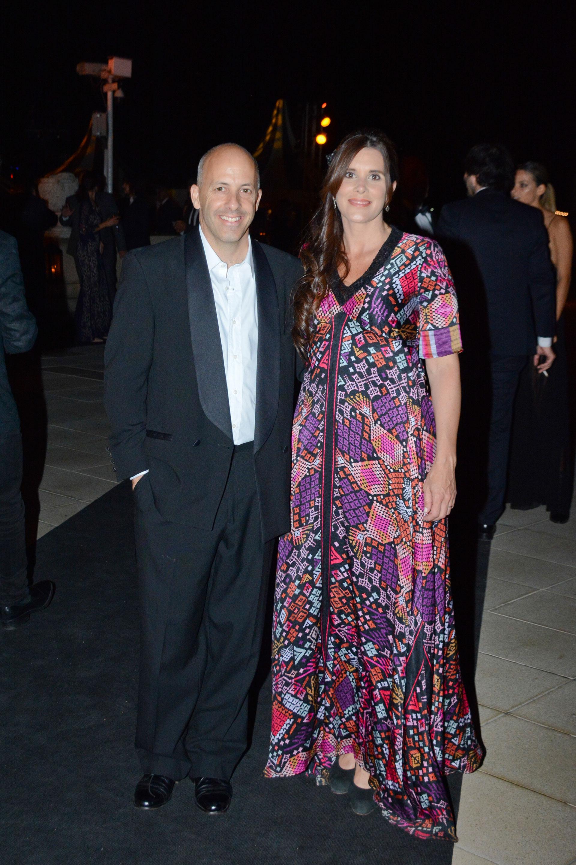 El intendente de Pilar, Nicolás Ducoté y su mujer Laura