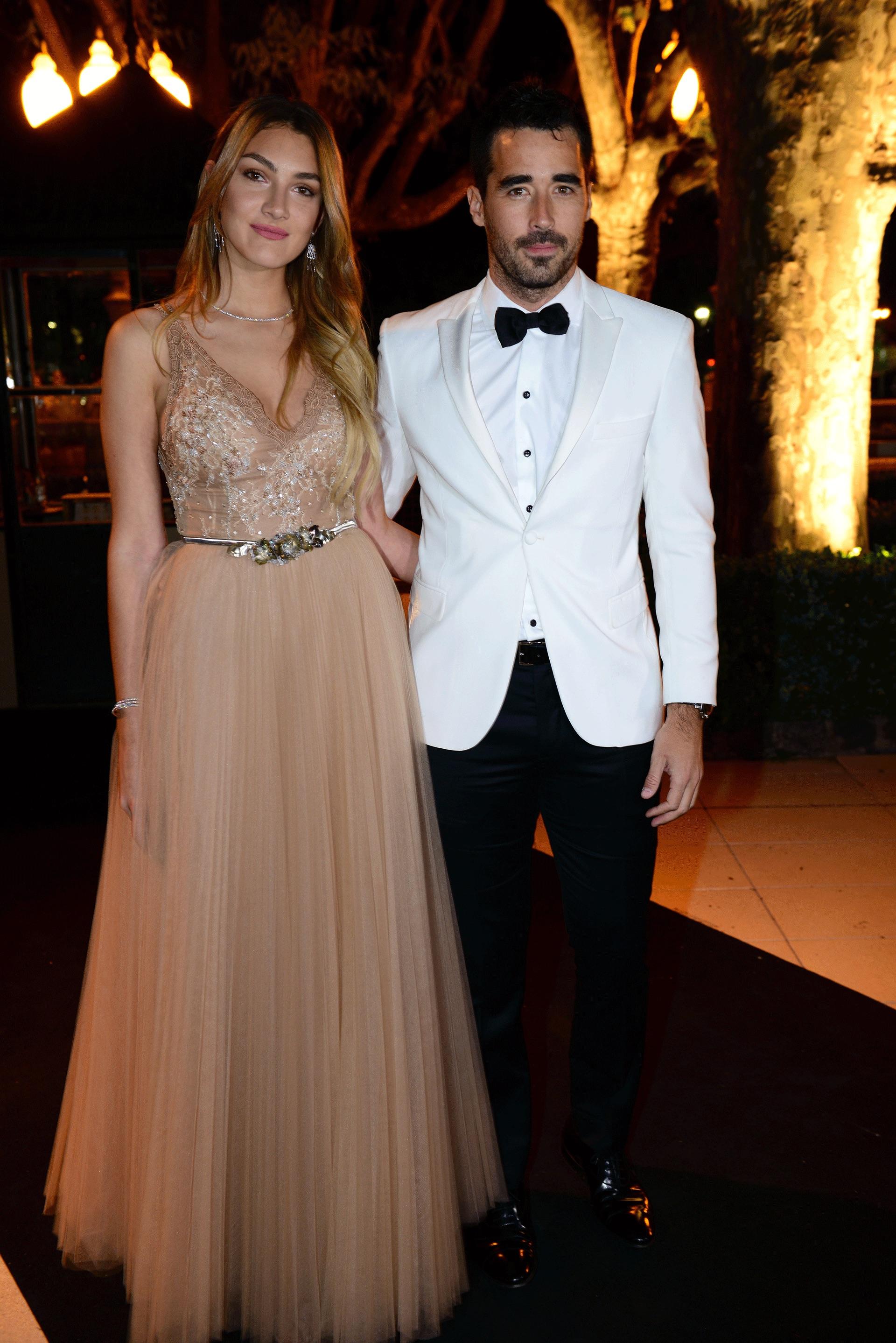 Lucía Pedraza y Nacho Viale. Foto: Alejandro Carra/ GENTE
