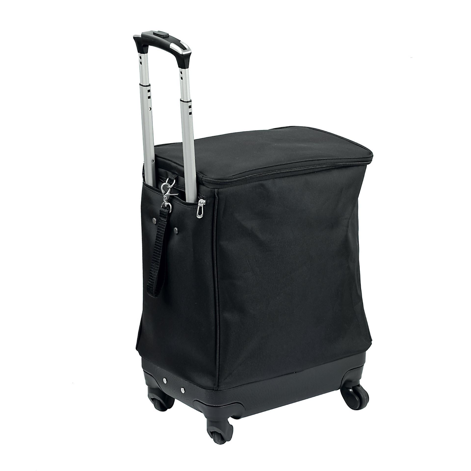 15. Heladera plegable con carrito ($ 750).