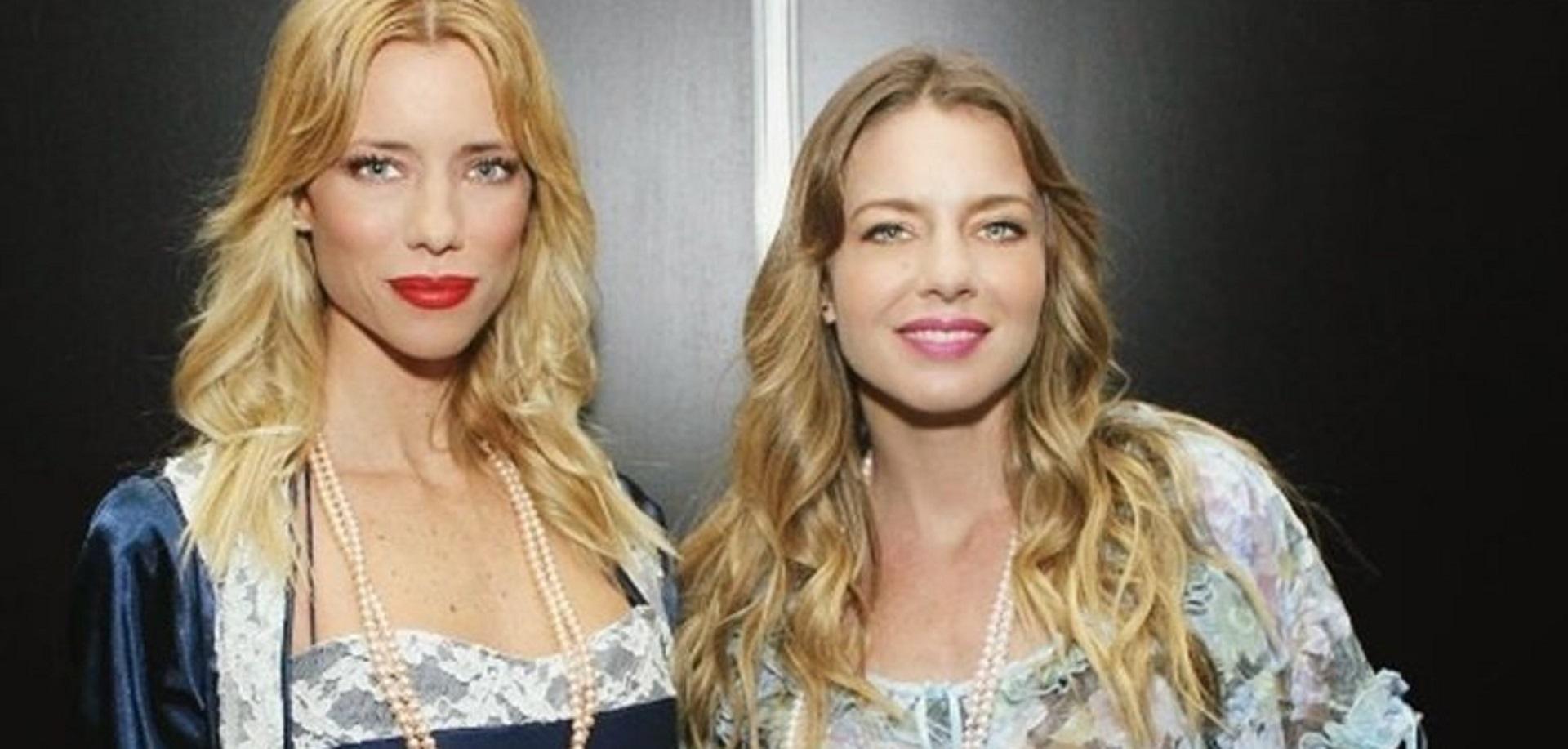 Nicole y su hermana, Geraldine Neumann