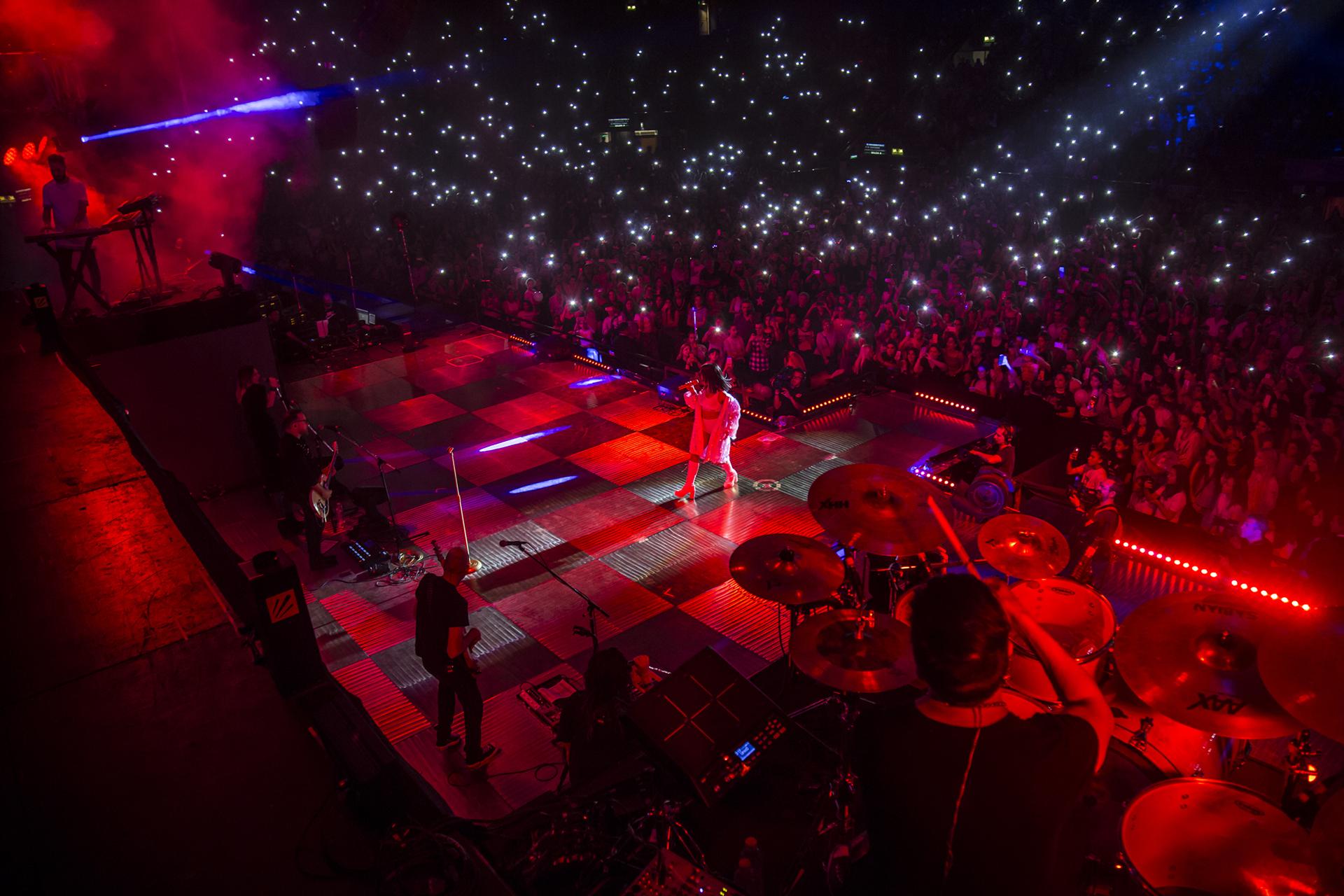 Más de 12 mil personas disfrutaron del show