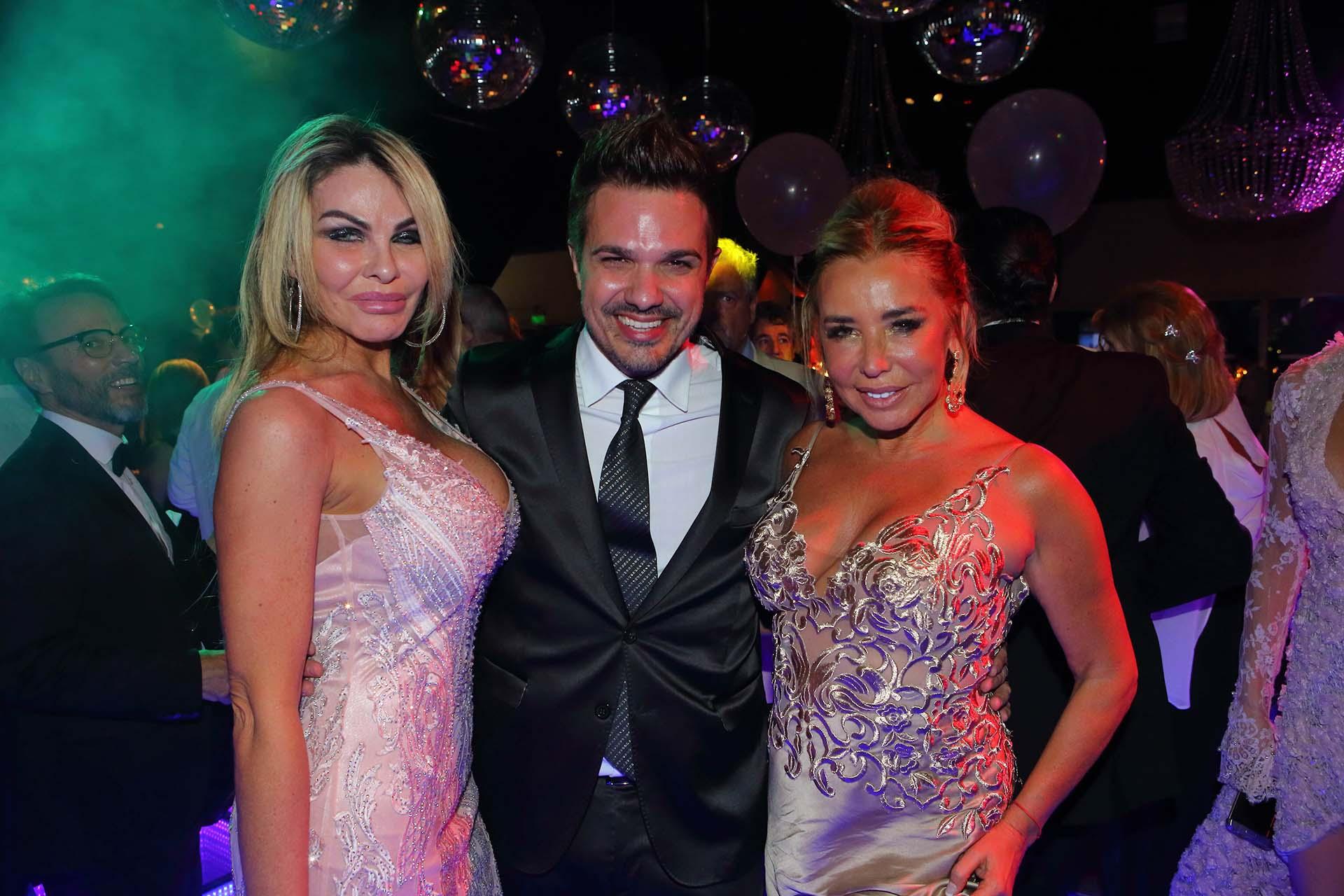 Roxana Dib, Alejandro Viñas y Liz Fassi Lavalle