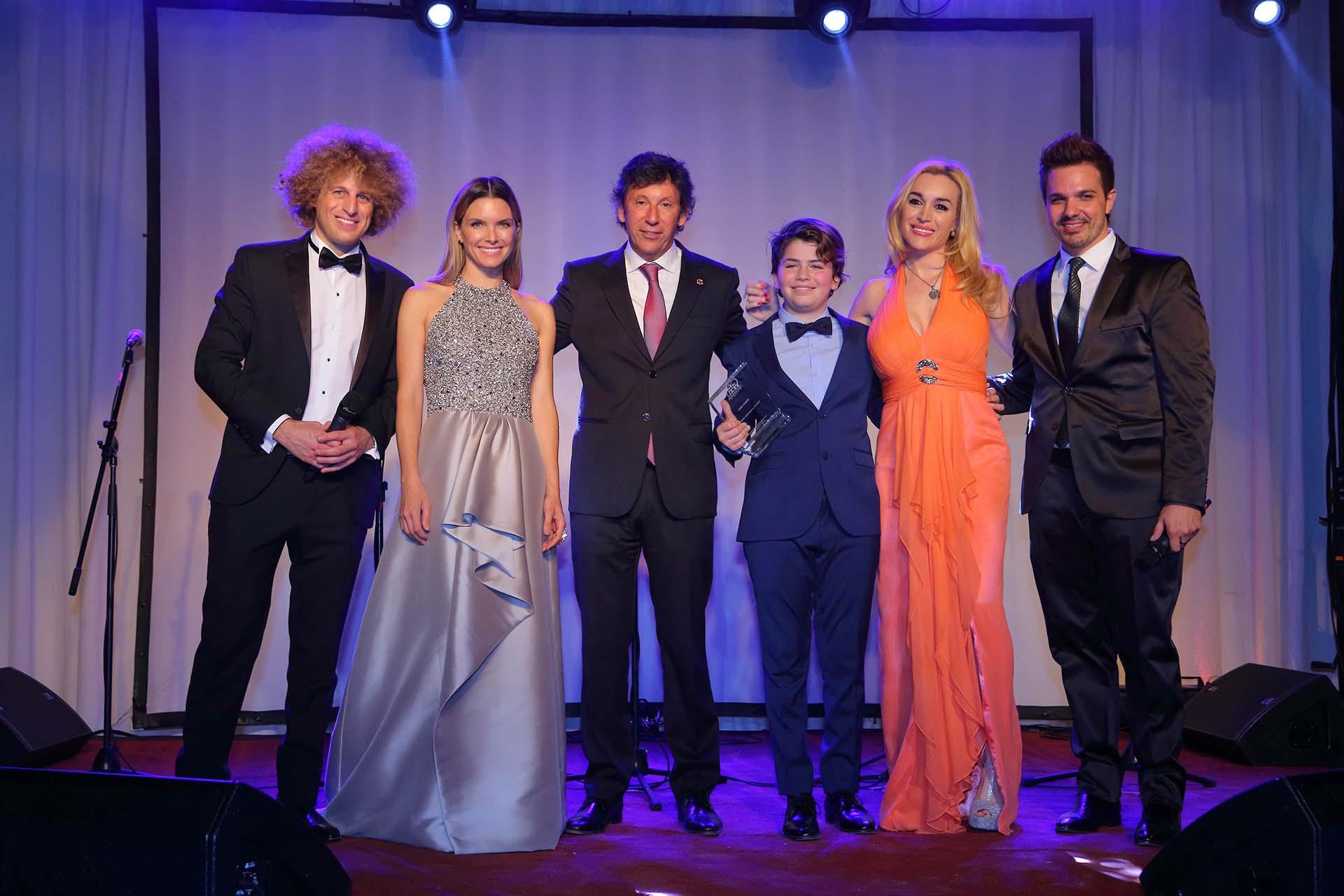 """Darian """"Rulo"""" Schijman, Sofía Zámolo, Gustavo Posse, Martín Savi, Fátima Florez y Alejandro Viñas"""
