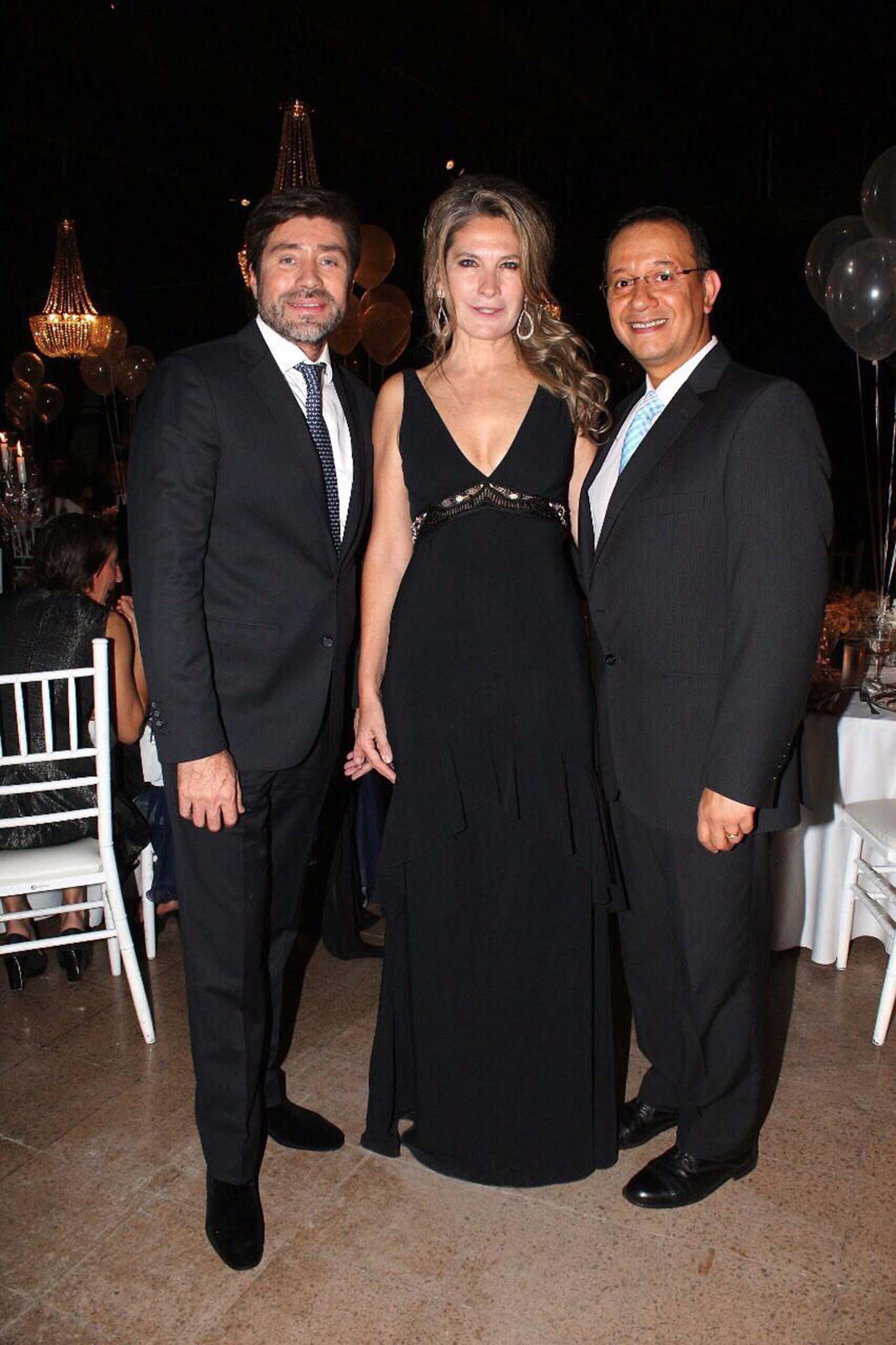 Walter Ramírez Moyano, Ana Rusconi y Daniel Martínez