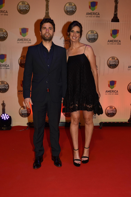 Luciana Geuna y su marido, Martín Guglielmone.