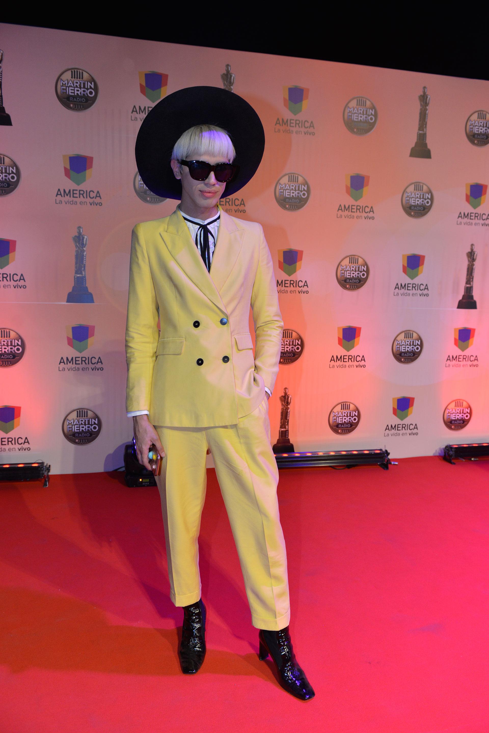 El diseñador de moda Santiago Artemis.