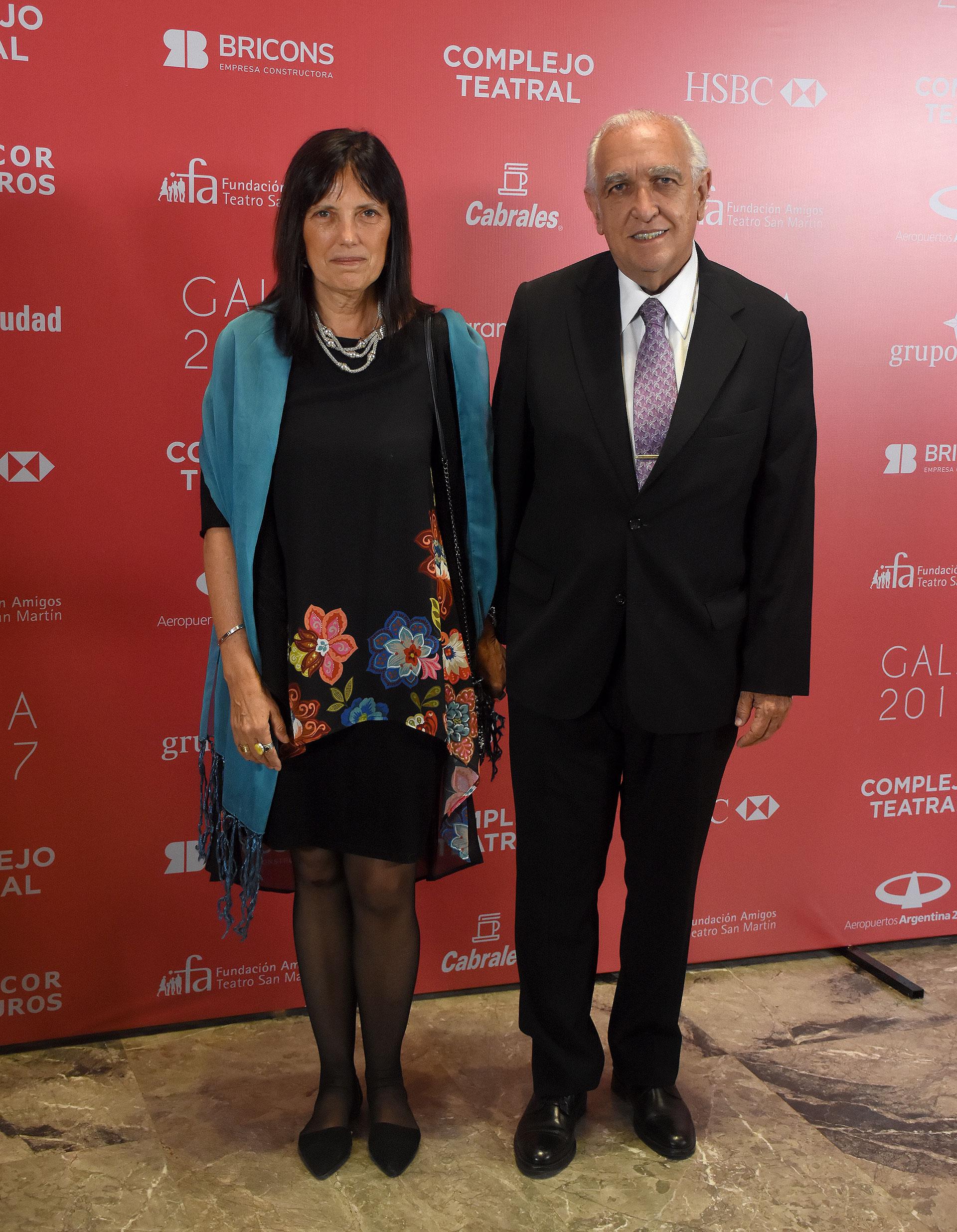 Claudia Piñeiro y Ricardo Gil Lavedra