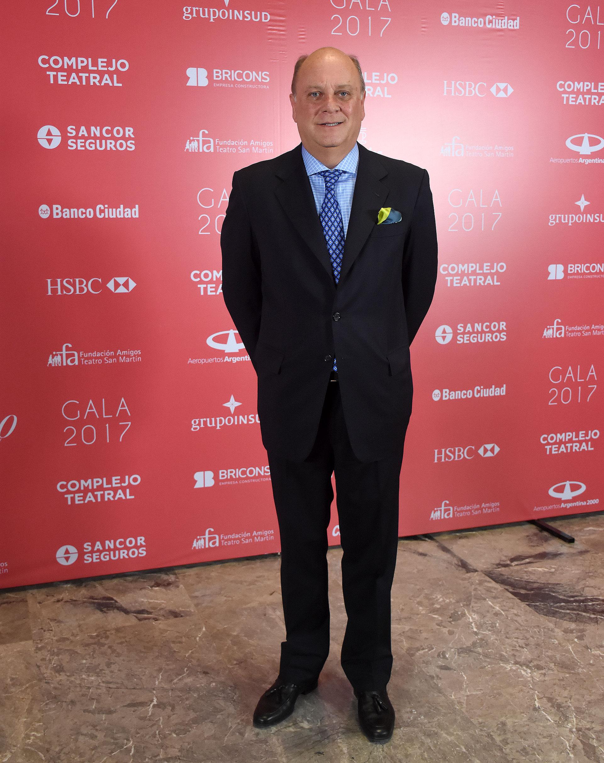 Martín Cabrales, vicepresidente de la Fundación Amigos del Teatro San Martín